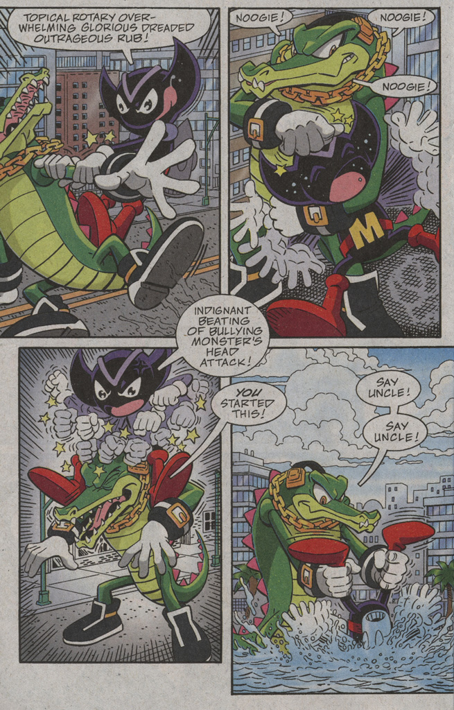Read online Sonic X comic -  Issue #39 - 22