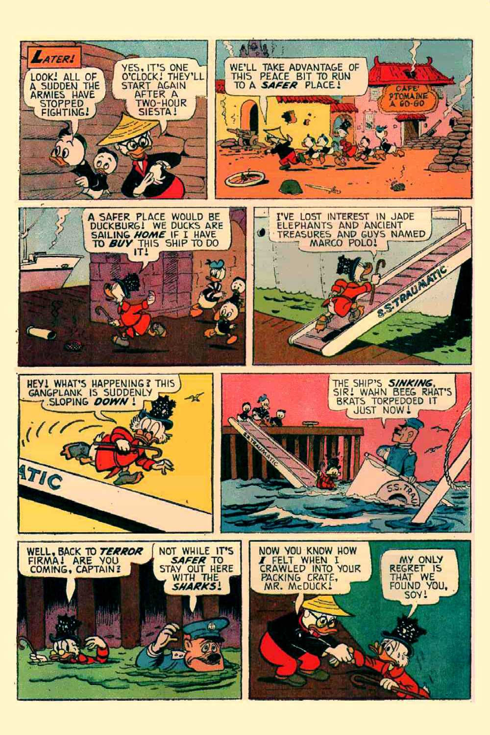 Read online Uncle Scrooge (1953) comic -  Issue #64 - 9