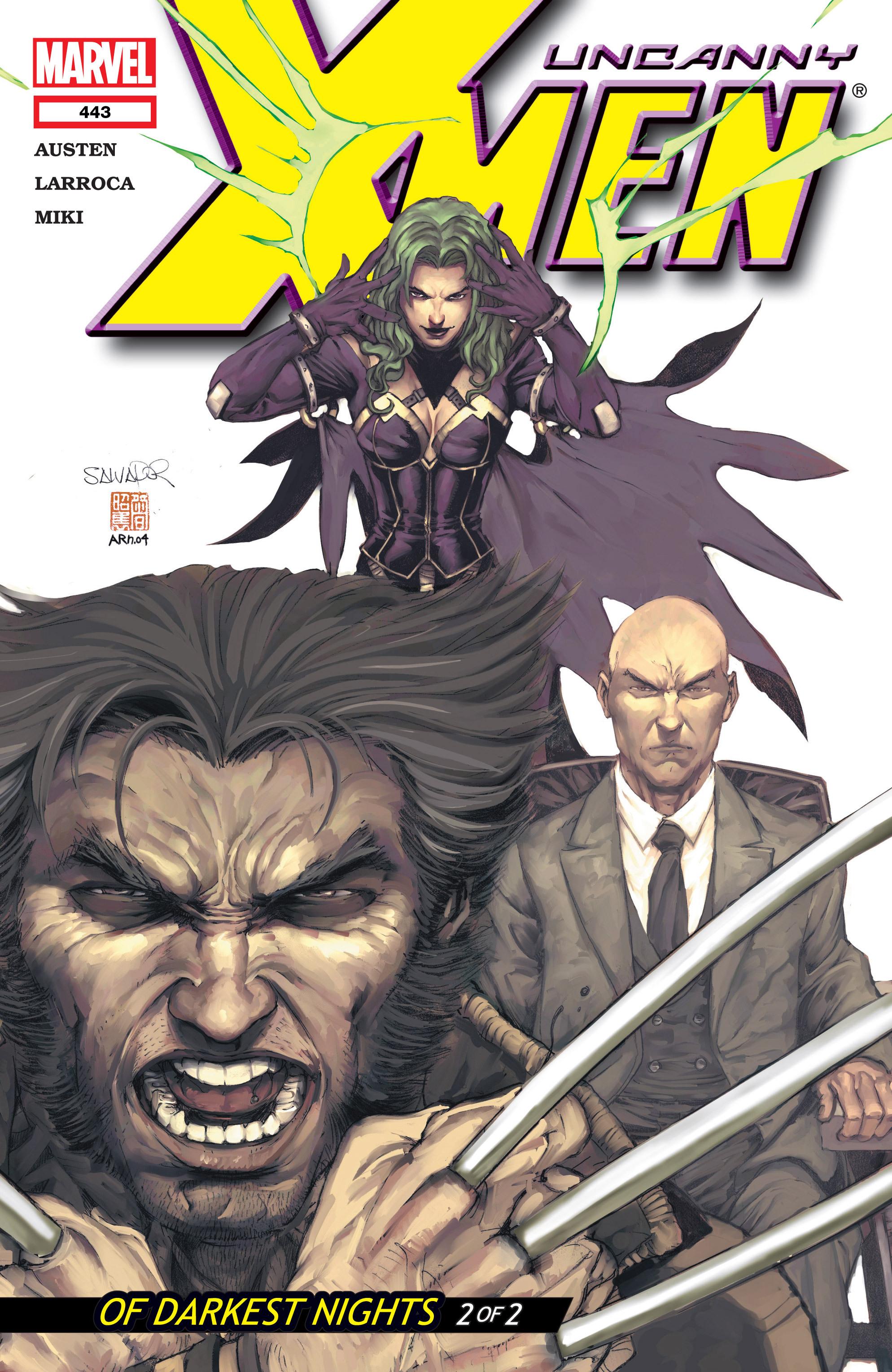Read online Uncanny X-Men (1963) comic -  Issue #443 - 1
