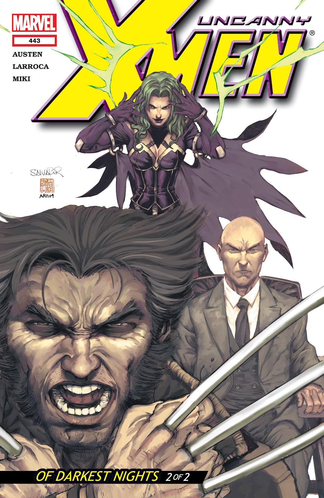 Uncanny X-Men (1963) 443 Page 1