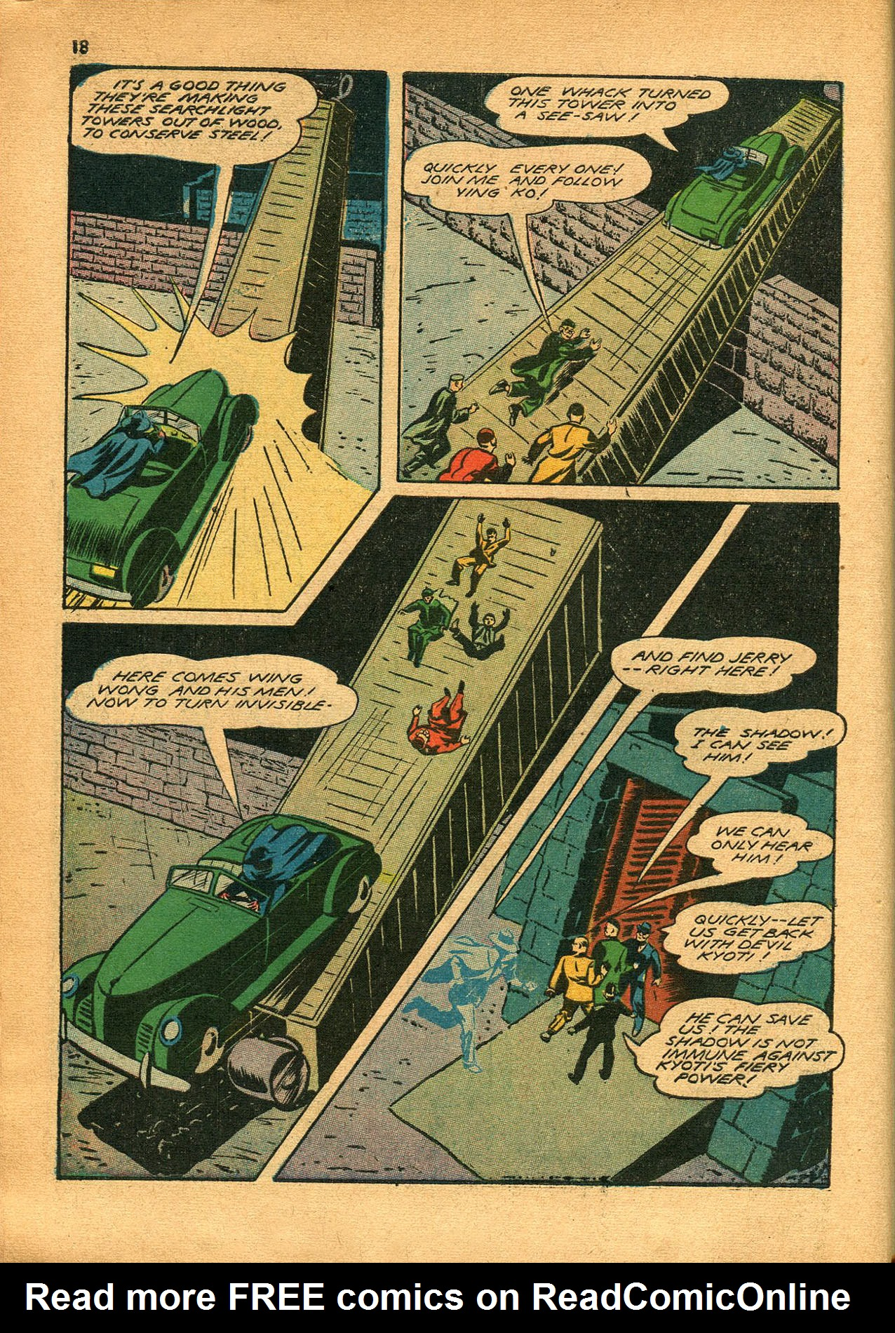 Read online Shadow Comics comic -  Issue #23 - 18