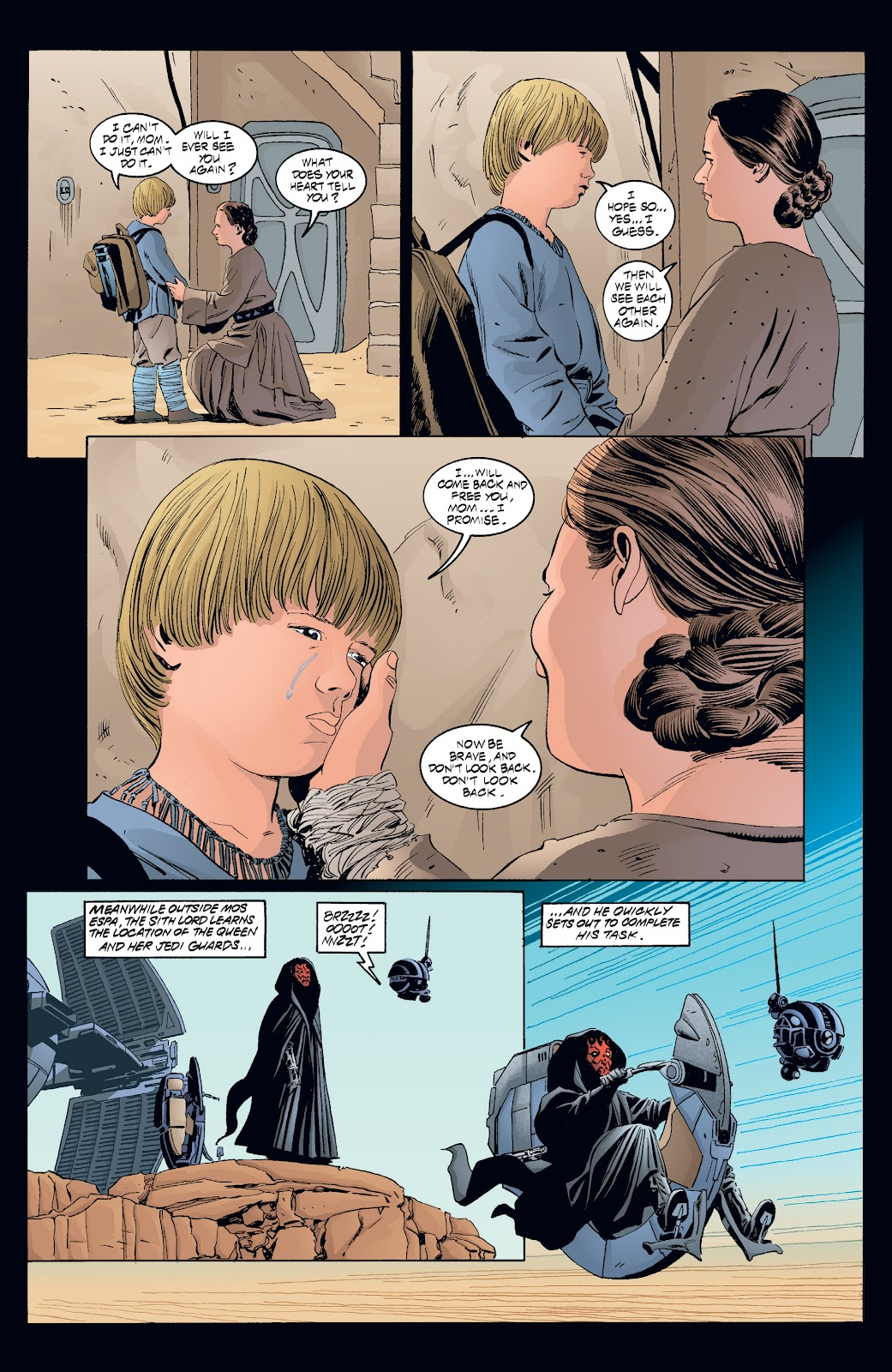 Read online Star Wars Legends: Rise of the Sith - Epic Collection comic -  Issue # TPB 2 (Part 3) - 93