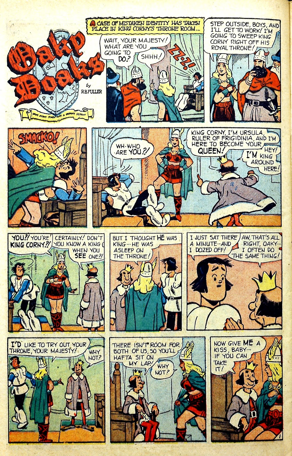 Read online Famous Funnies comic -  Issue #185 - 39