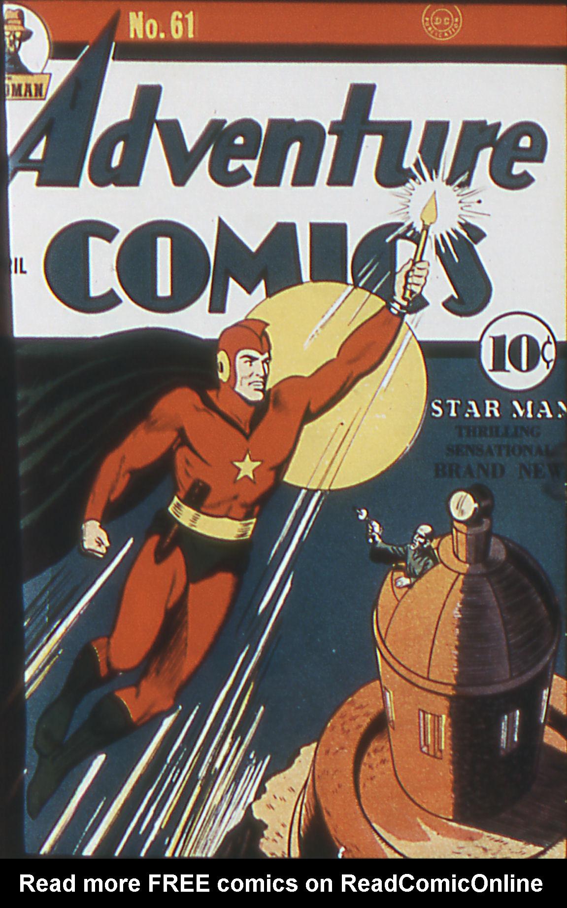 Read online Adventure Comics (1938) comic -  Issue #61 - 1