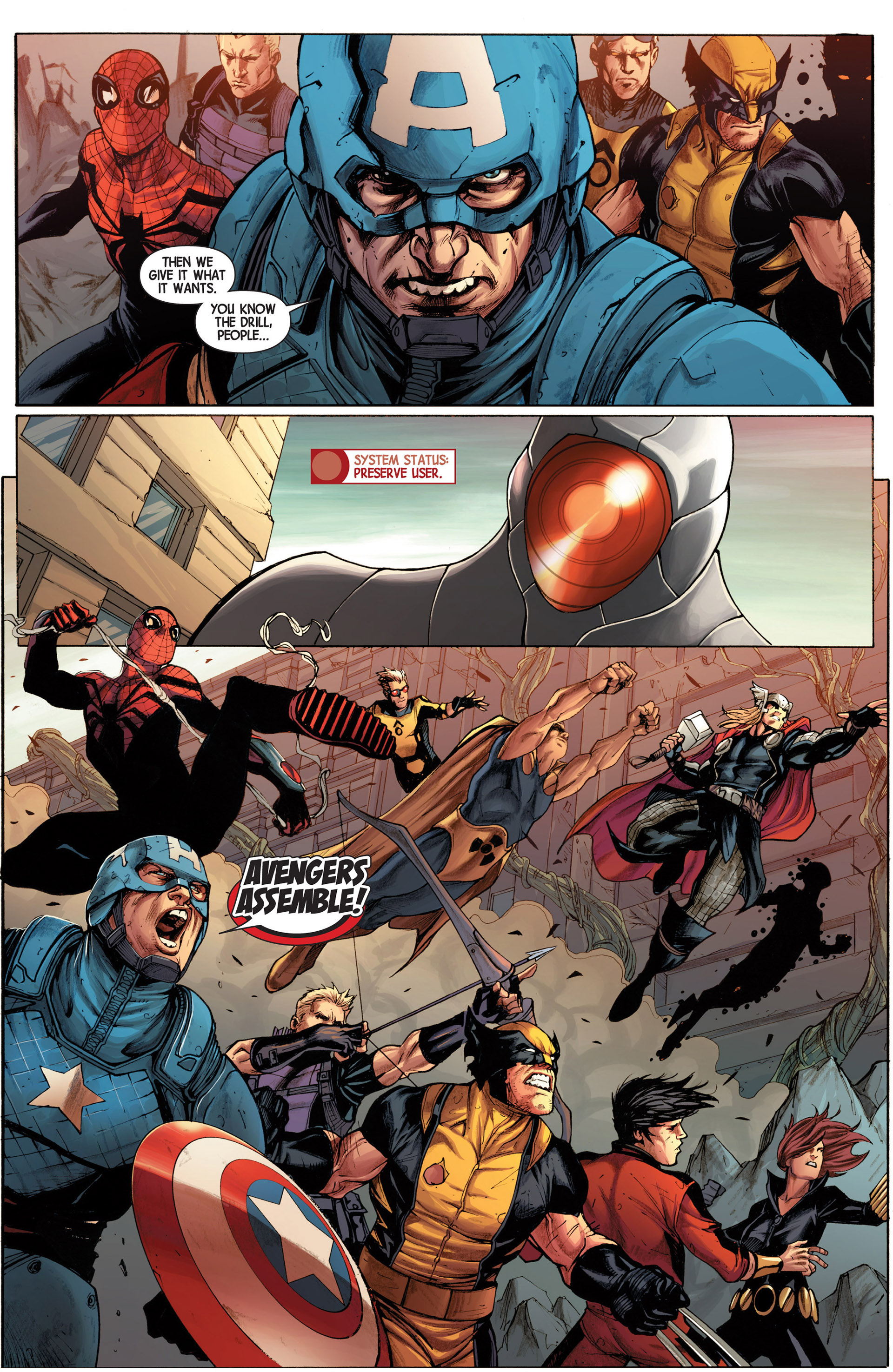 Read online Avengers (2013) comic -  Issue #16 - 14
