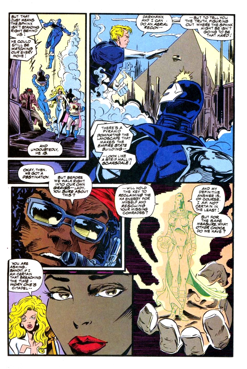 The New Warriors Issue #49 #53 - English 6