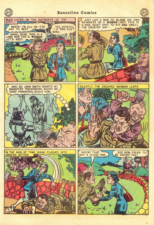 Read online Sensation (Mystery) Comics comic -  Issue #57 - 5
