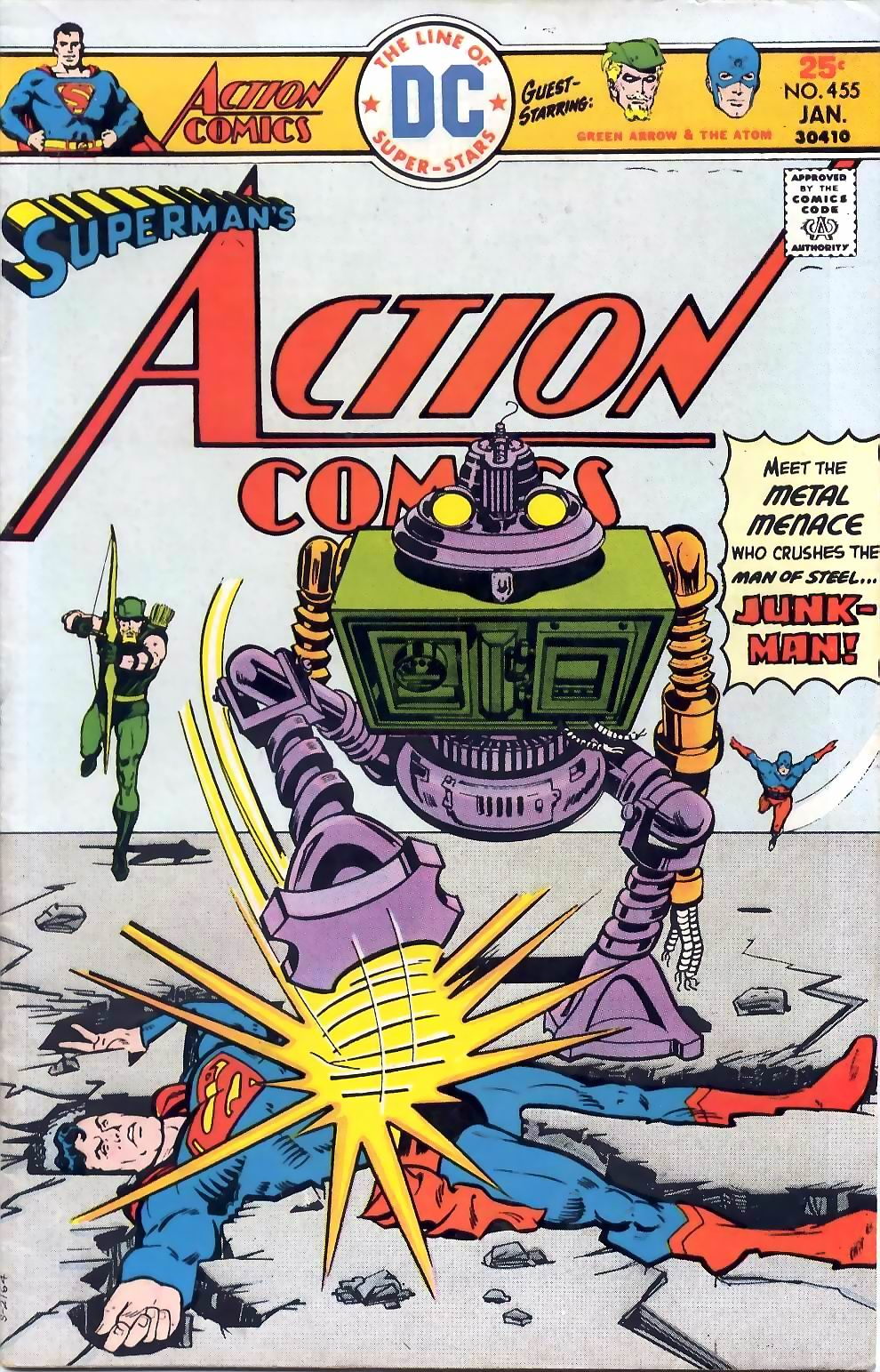 Action Comics (1938) 455 Page 1
