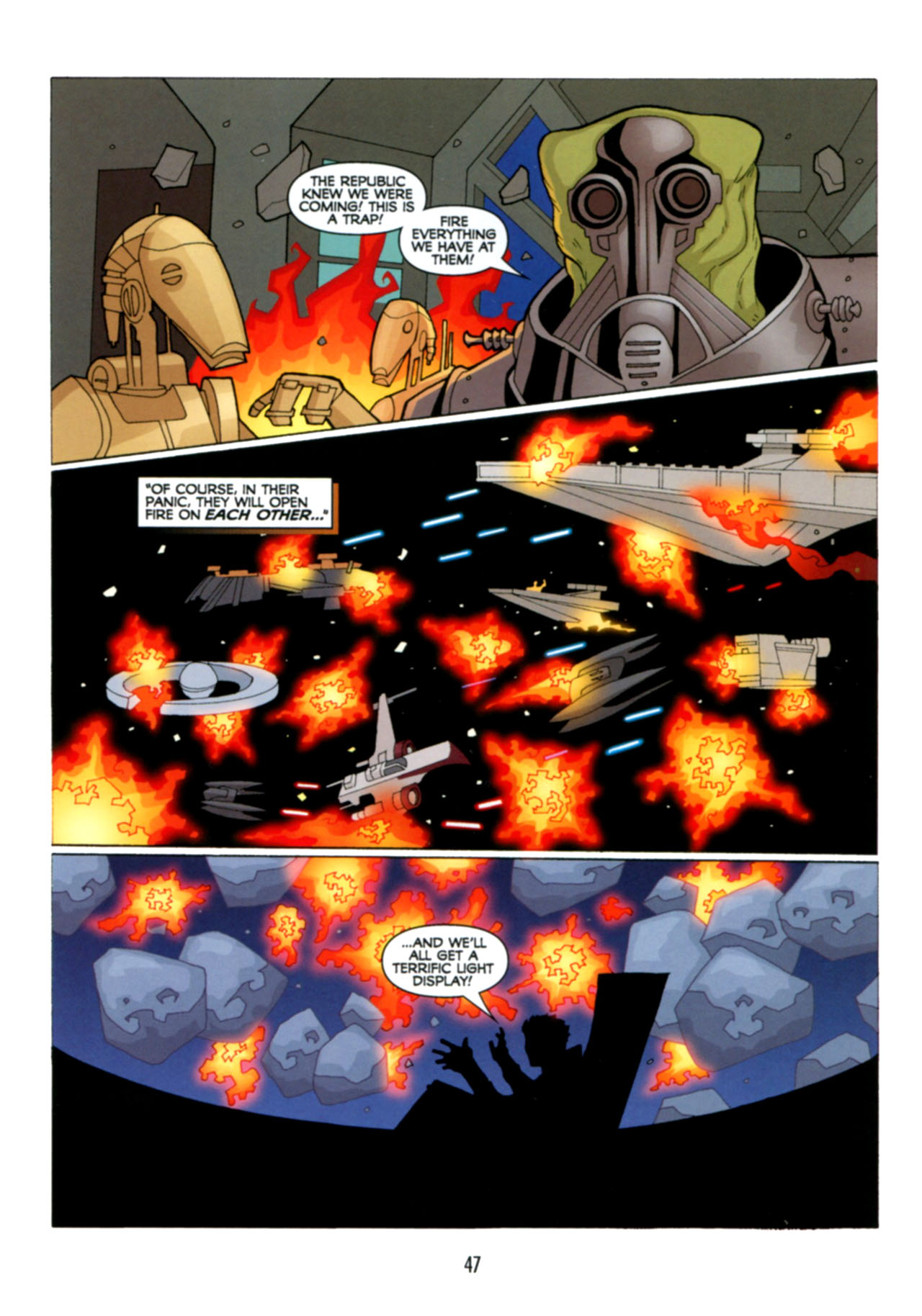 Read online Star Wars: The Clone Wars - Deadly Hands of Shon-Ju comic -  Issue # Full - 48