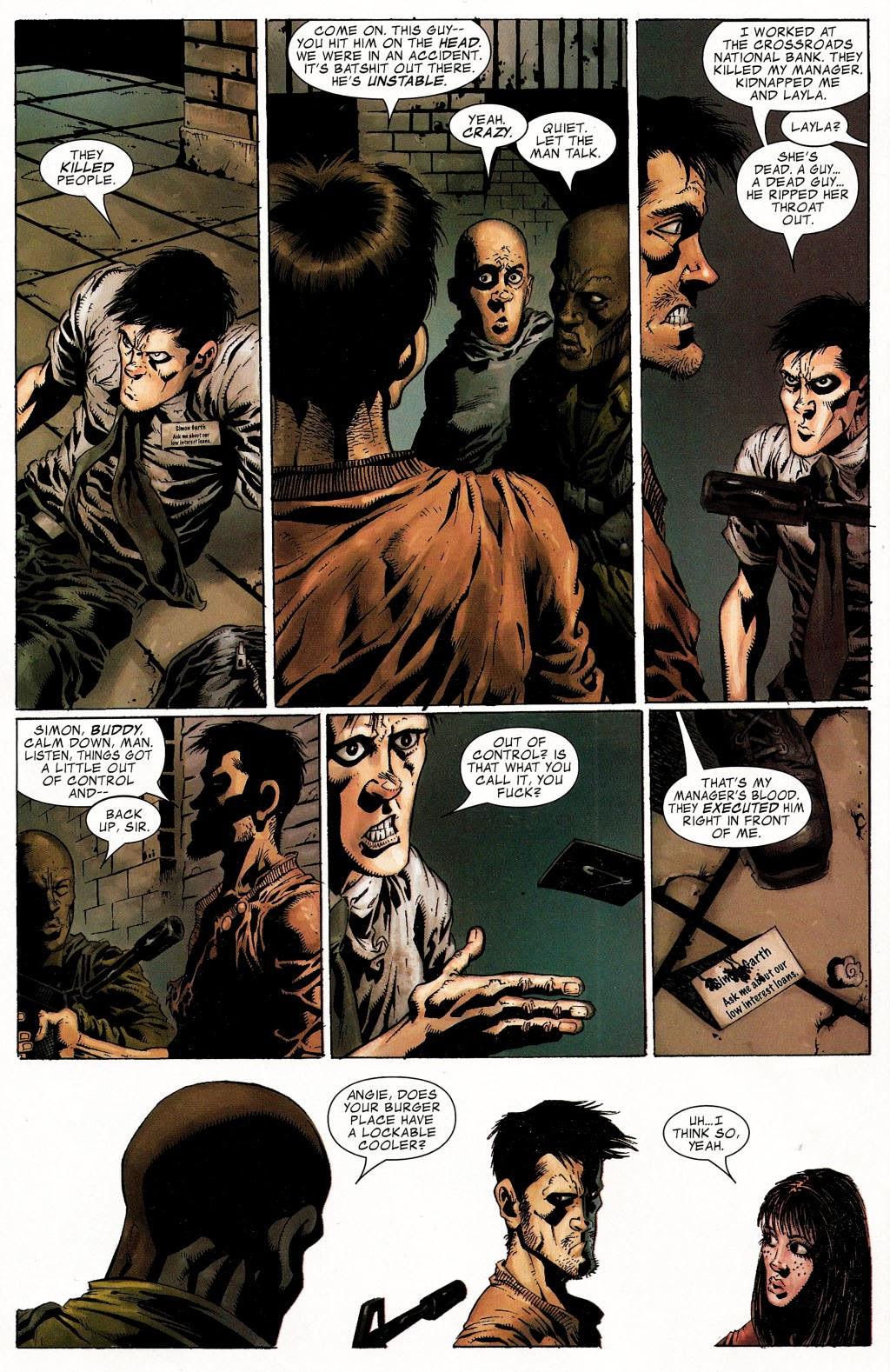 Read online Zombie (2006) comic -  Issue #1 - 21