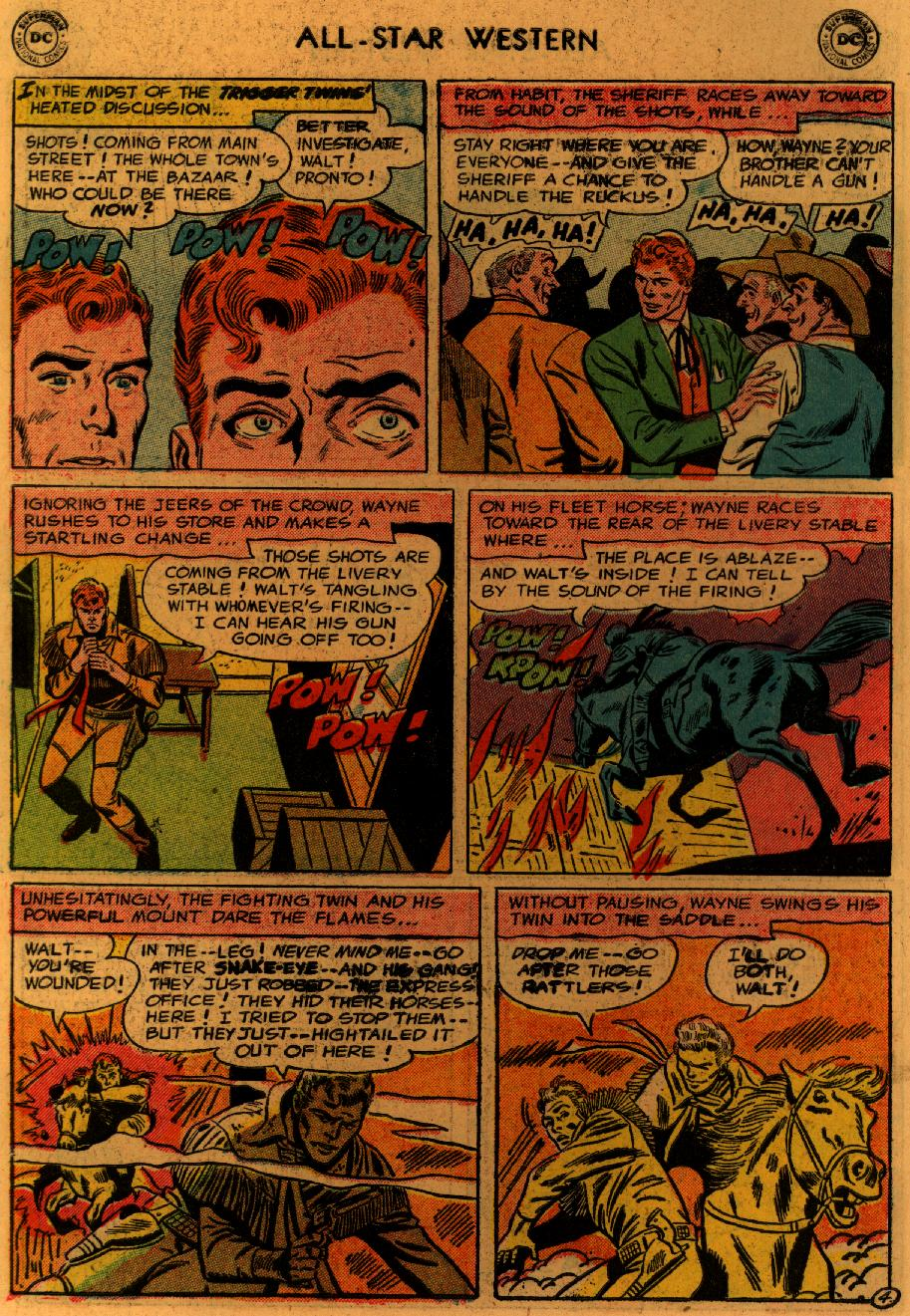 Read online All-Star Western (1951) comic -  Issue #89 - 7