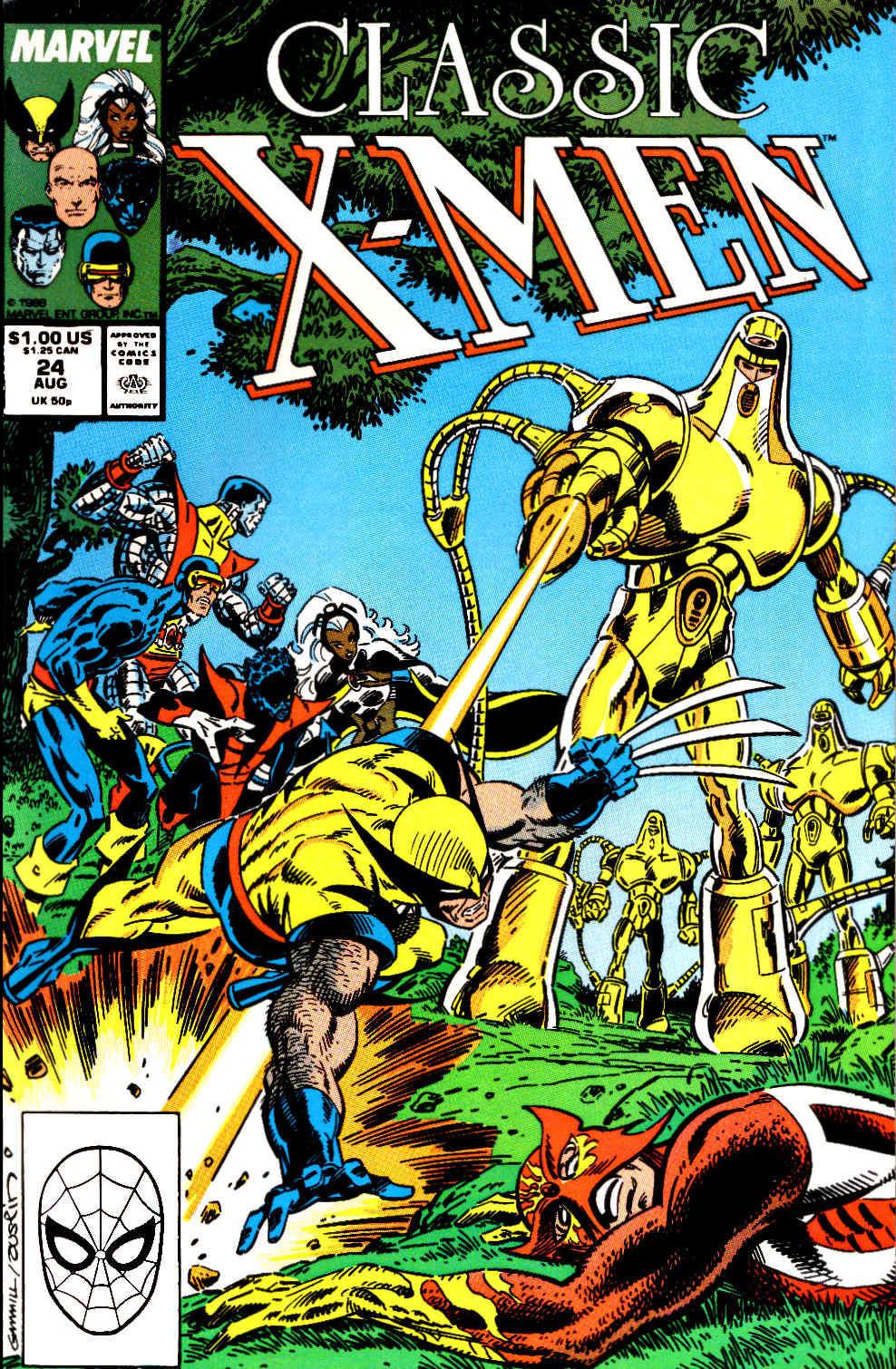 Classic X-Men 24 Page 1