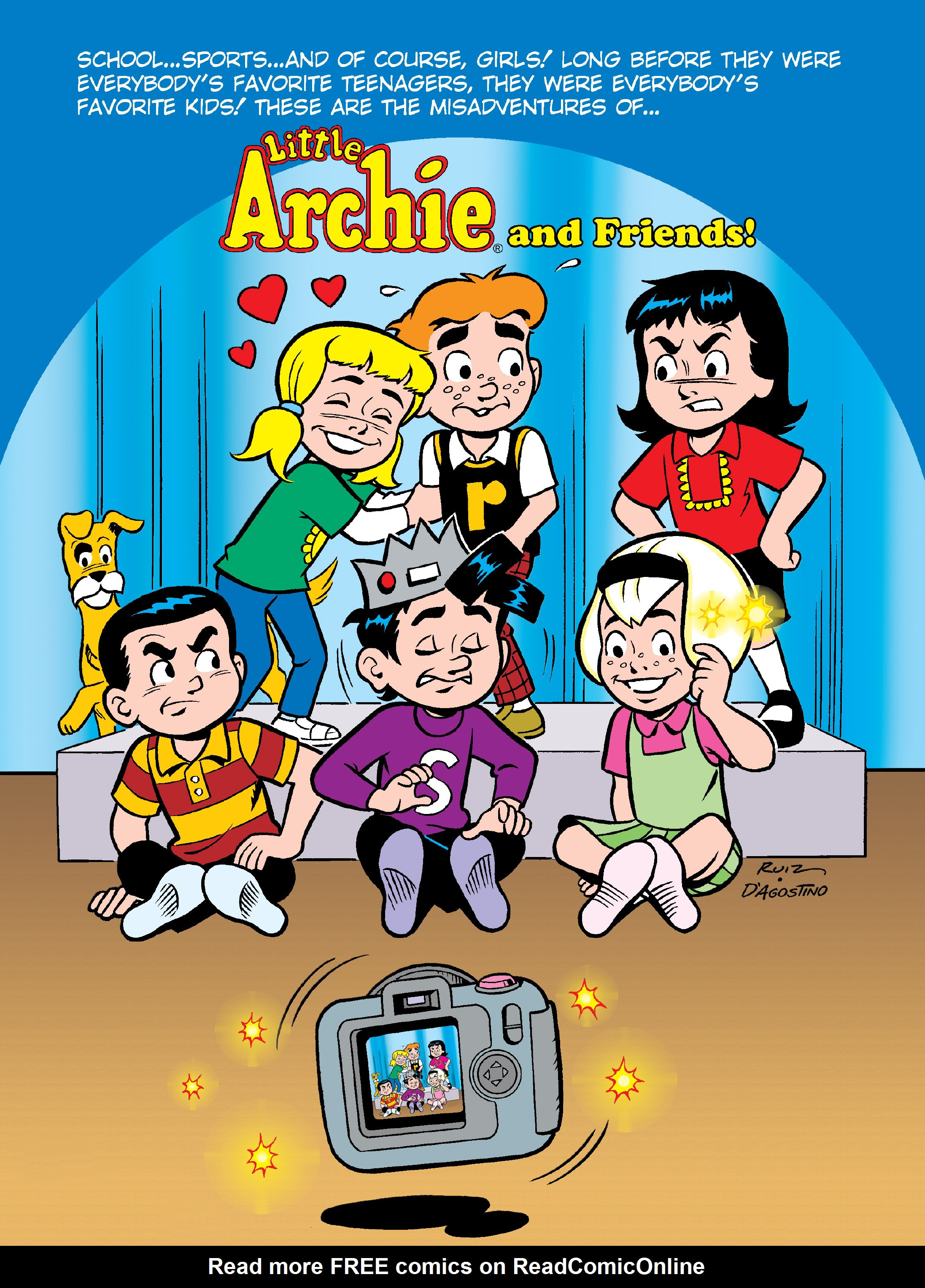 Read online Archie's Funhouse Double Digest comic -  Issue #13 - 127