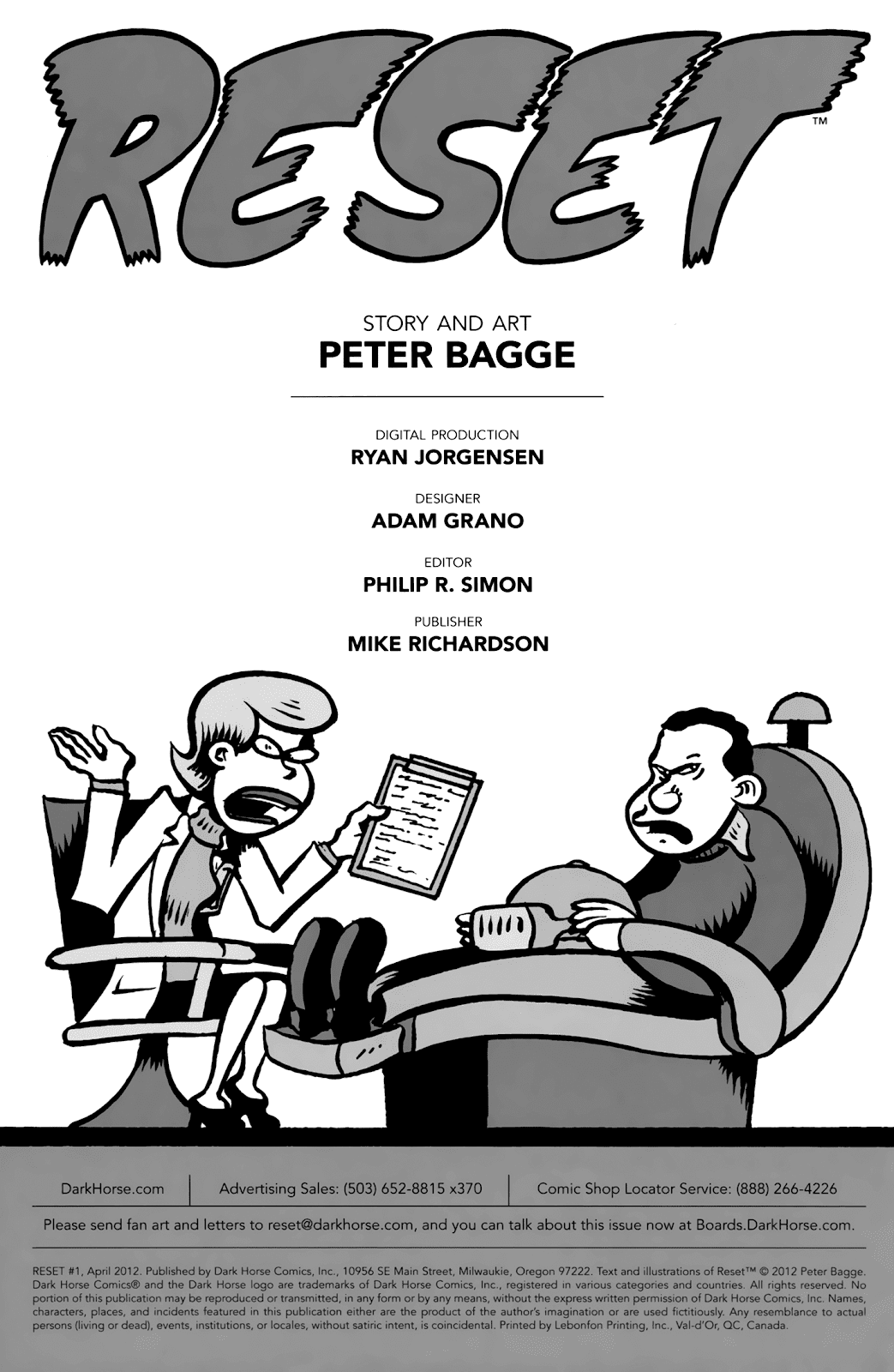 Read online Reset comic -  Issue #1 - 3