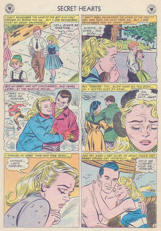 Read online Secret Hearts comic -  Issue #72 - 28