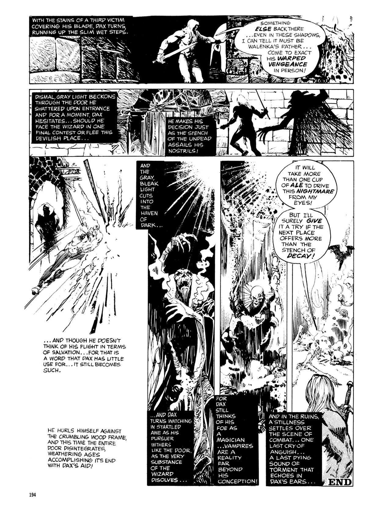 Read online Eerie Archives comic -  Issue # TPB 10 - 195