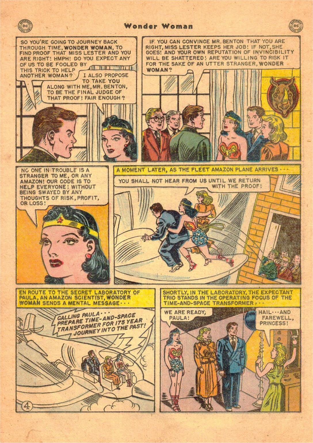 Read online Wonder Woman (1942) comic -  Issue #47 - 21