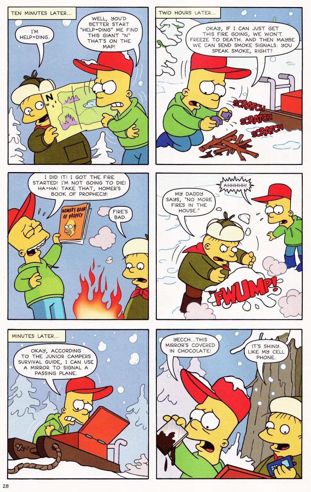 Read online The Simpsons Winter Wingding comic -  Issue #2 - 29