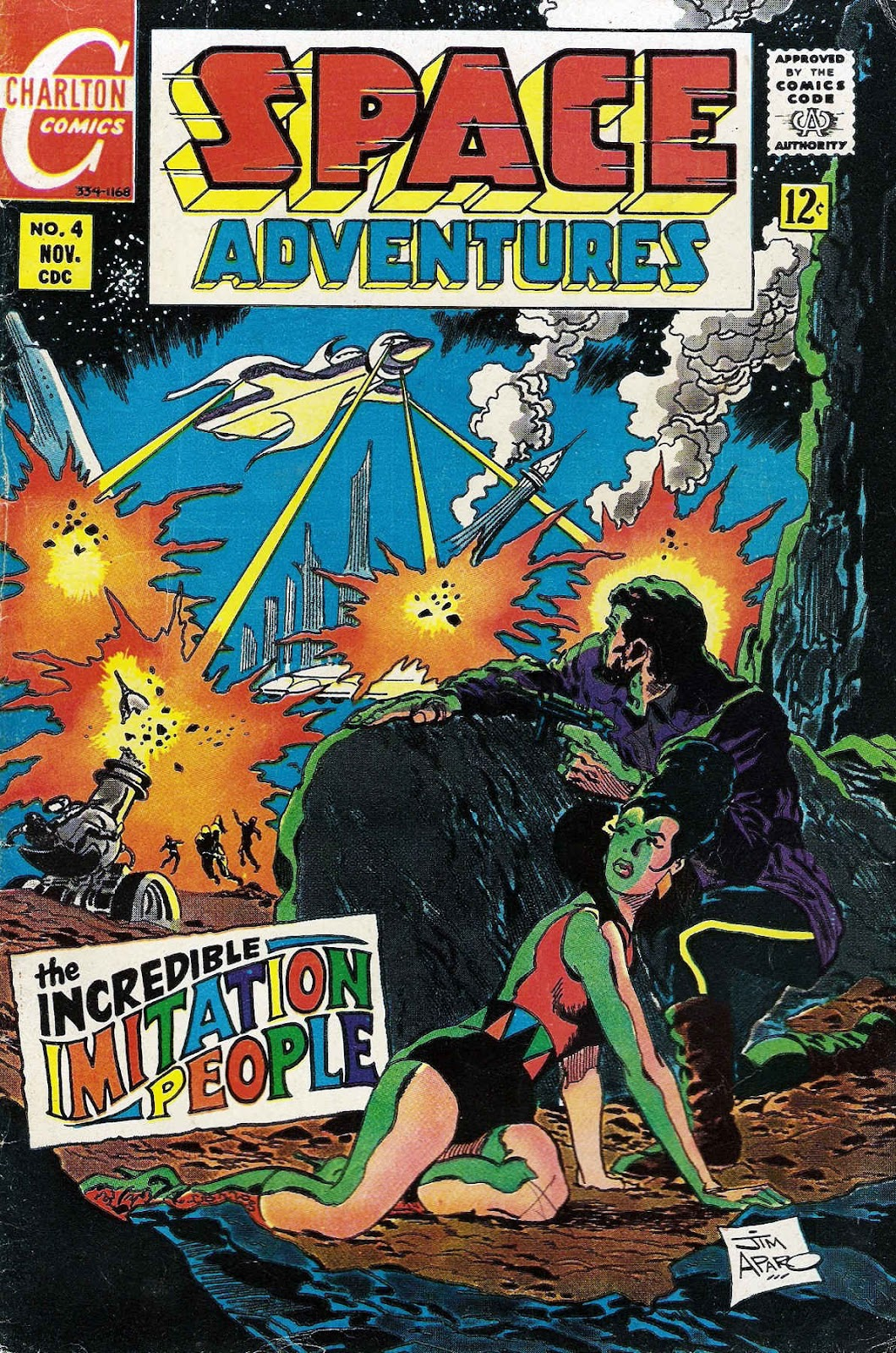 Space Adventures (1968) issue 4 - Page 1
