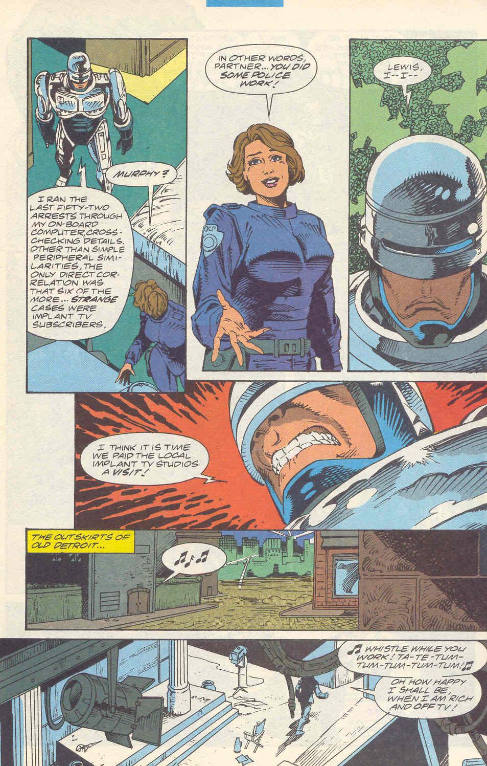 Read online Robocop (1990) comic -  Issue #16 - 10