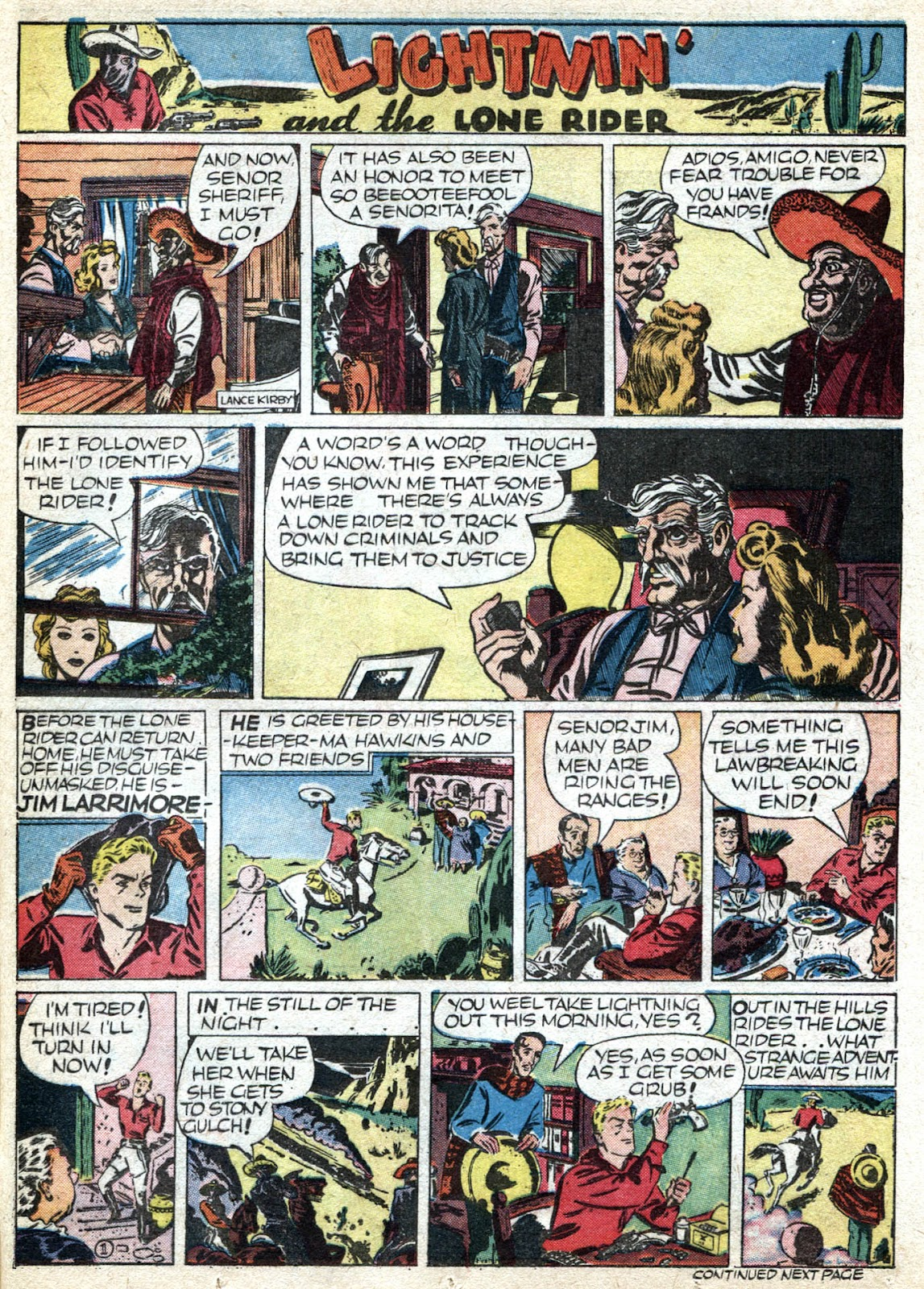 Read online Famous Funnies comic -  Issue #66 - 49