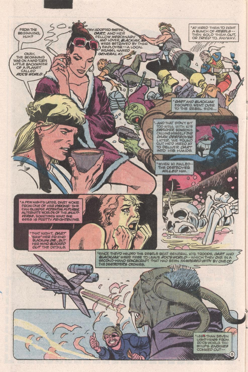 Read online Atari Force (1984) comic -  Issue #9 - 6