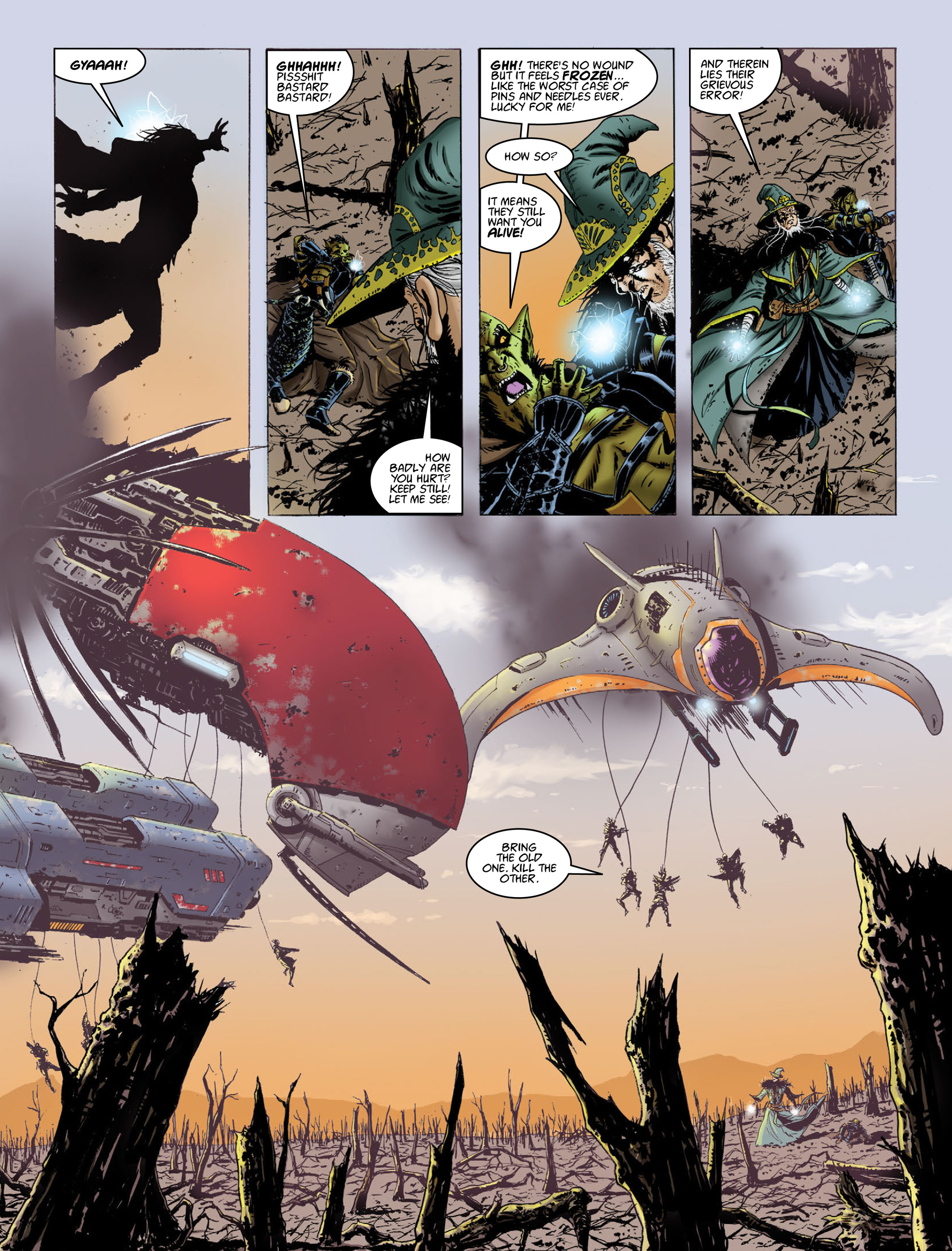 Read online 2000 AD comic -  Issue #2014 - 11