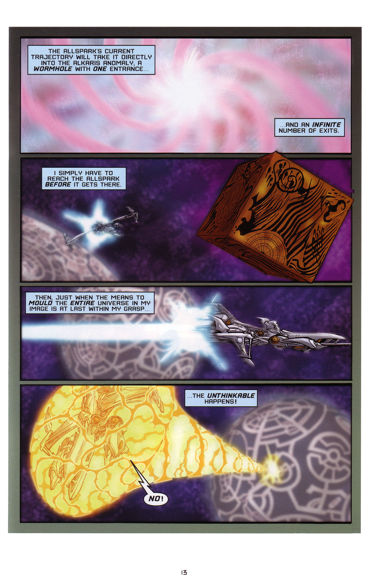 Read online Transformers: Saga of the Allspark comic -  Issue #1 - 14
