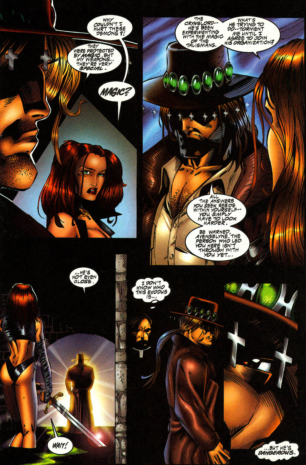 Read online Avengelyne (1996) comic -  Issue #10 - 16