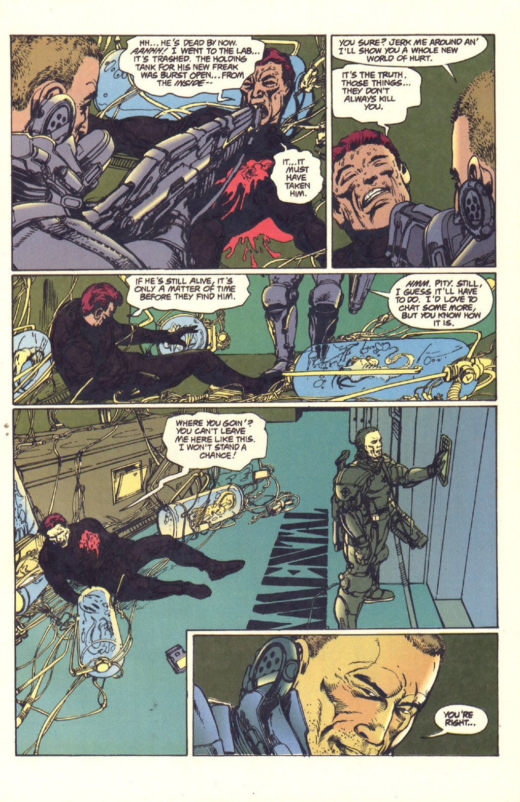 Read online Aliens: Rogue comic -  Issue #4 - 13