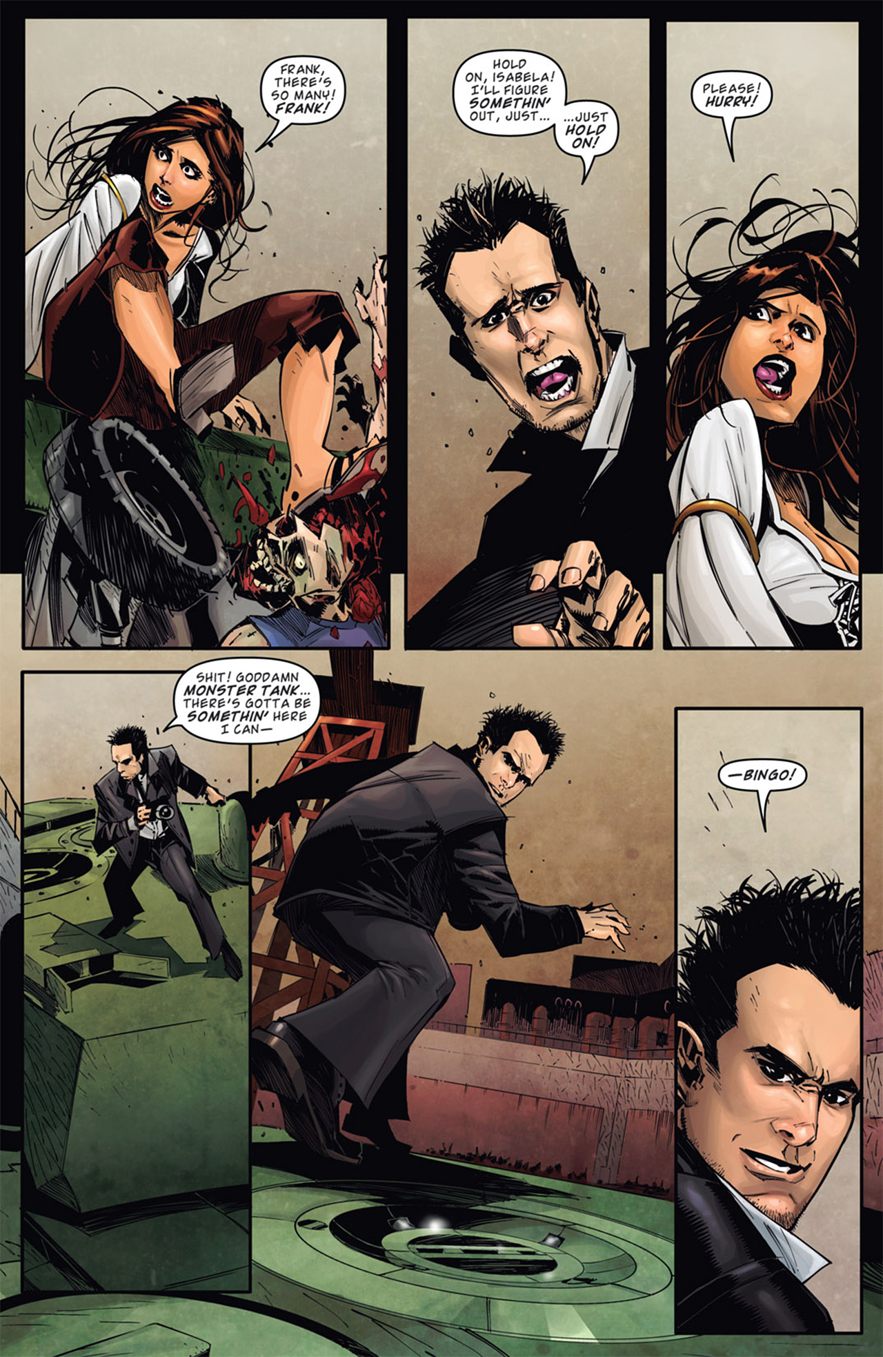 Read online Dead Rising: Road to Fortune comic -  Issue # TPB - 8