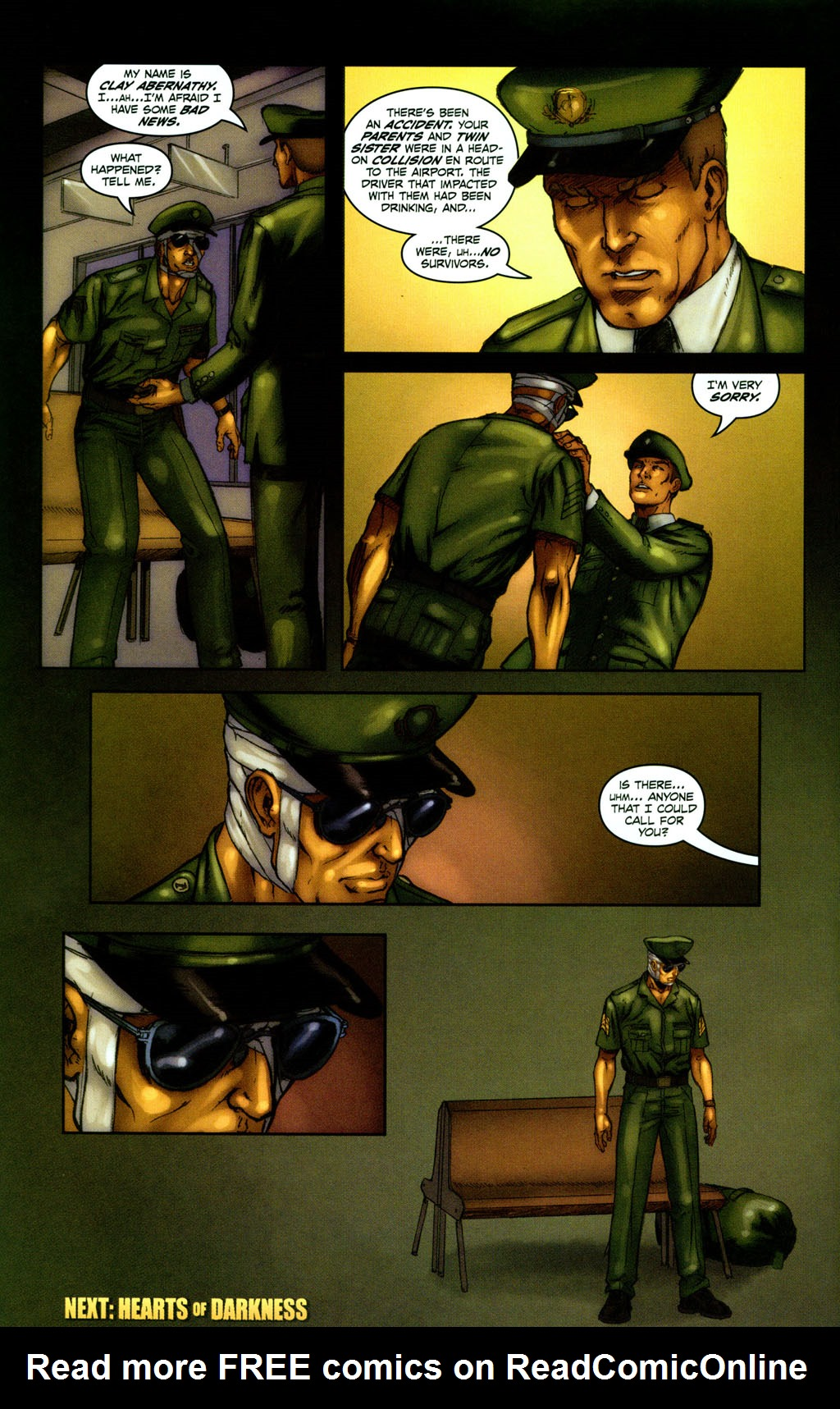 Read online Snake Eyes: Declassified comic -  Issue #1 - 23