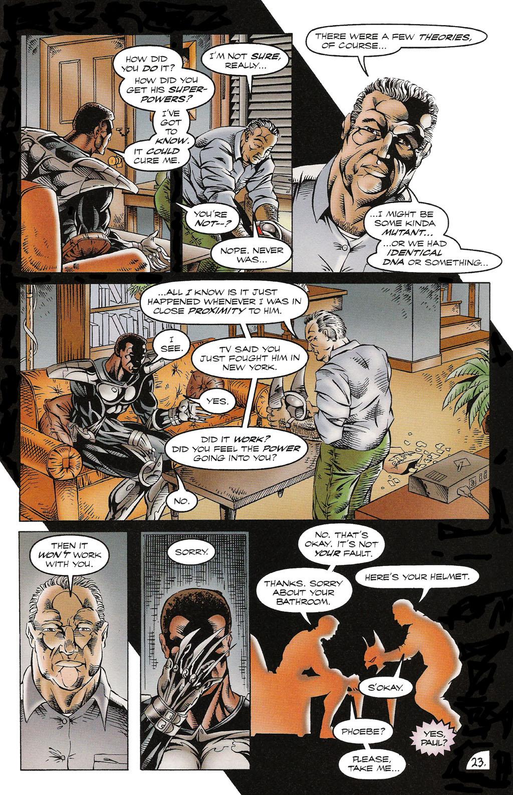 Read online ShadowHawk comic -  Issue #16 - 22