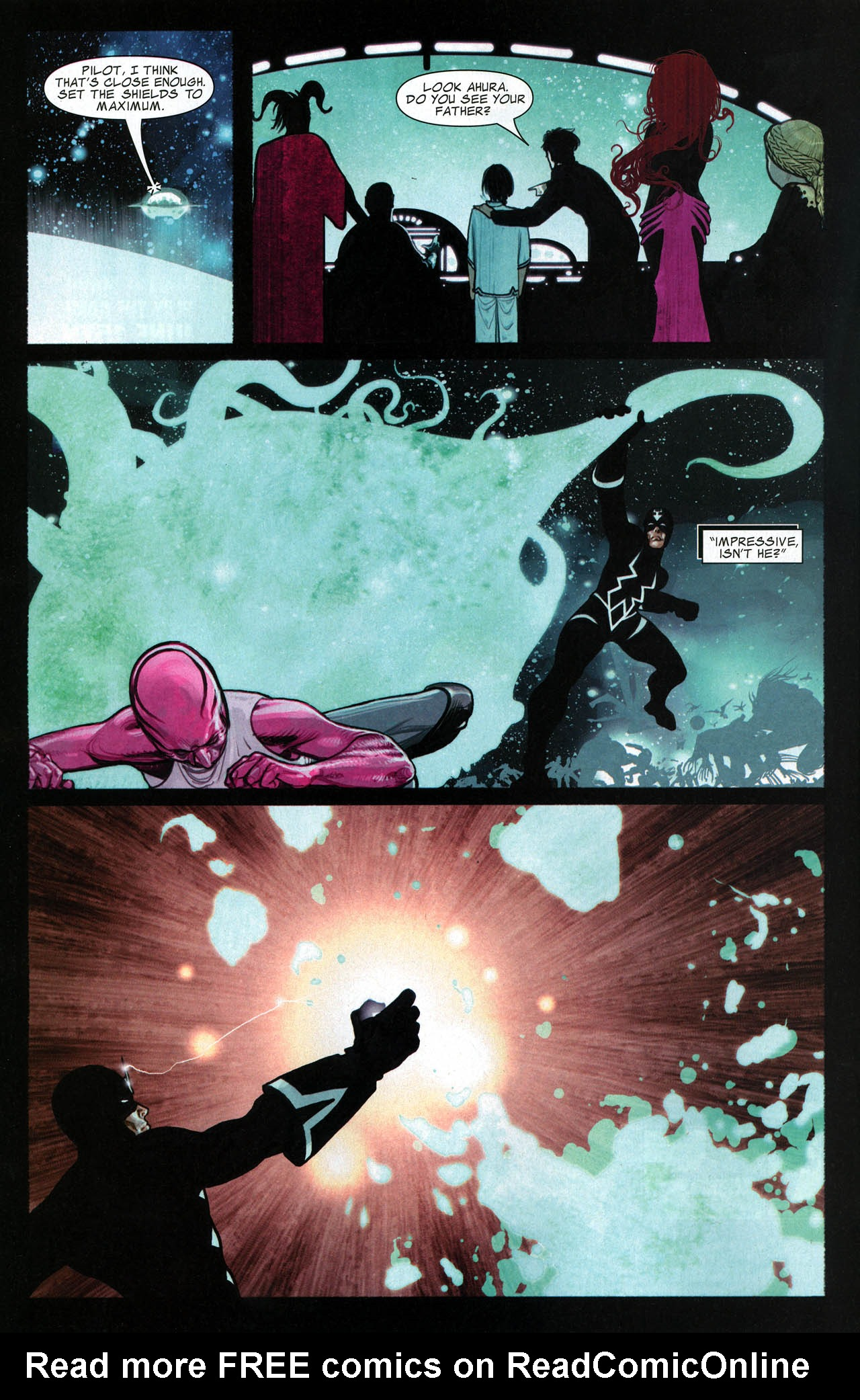 Read online Silent War comic -  Issue #6 - 11