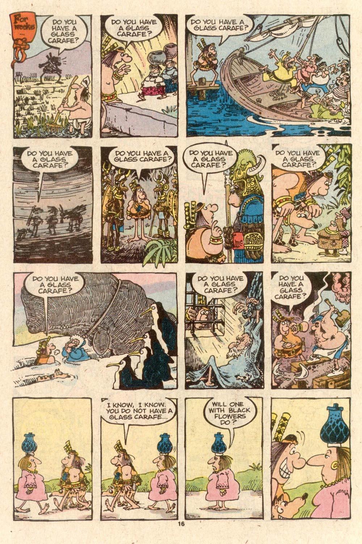 Read online Sergio Aragonés Groo the Wanderer comic -  Issue #40 - 17