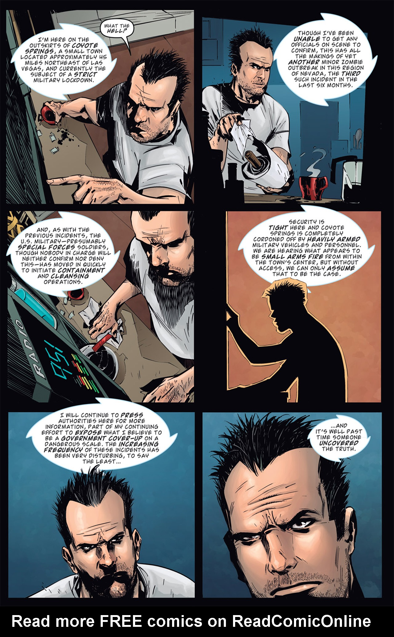 Read online Dead Rising: Road to Fortune comic -  Issue # TPB - 19