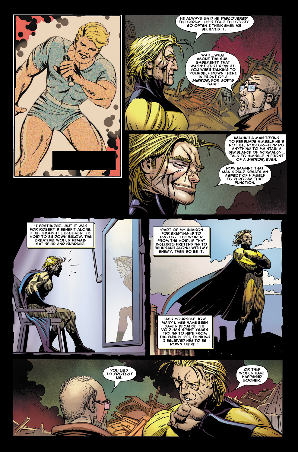 Read online Sentry (2006) comic -  Issue #6 - 10