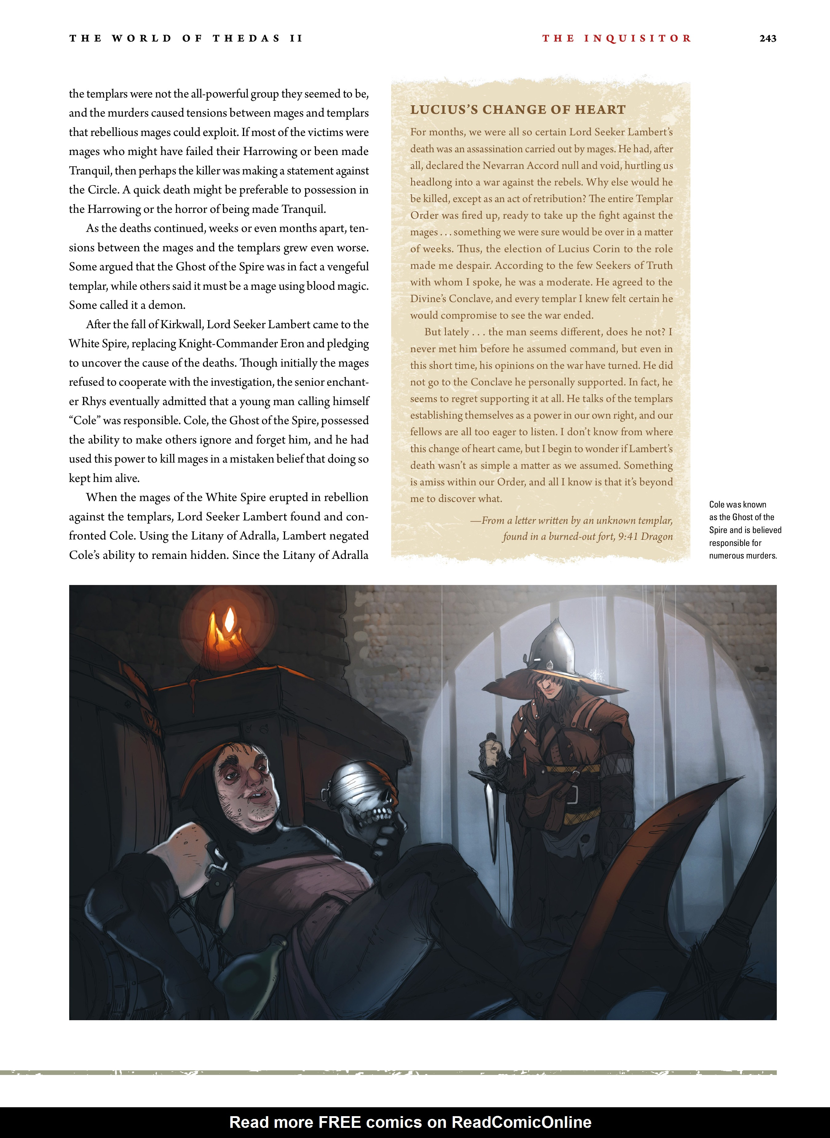 Read online Dragon Age: The World of Thedas comic -  Issue # TPB 2 - 237
