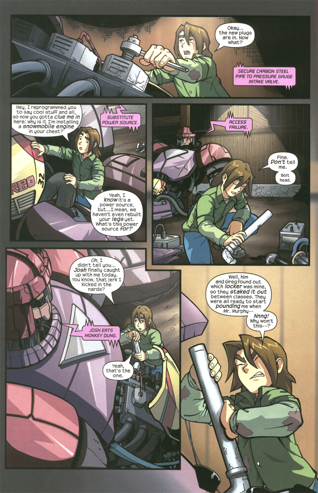 Read online Sentinel comic -  Issue #3 - 6