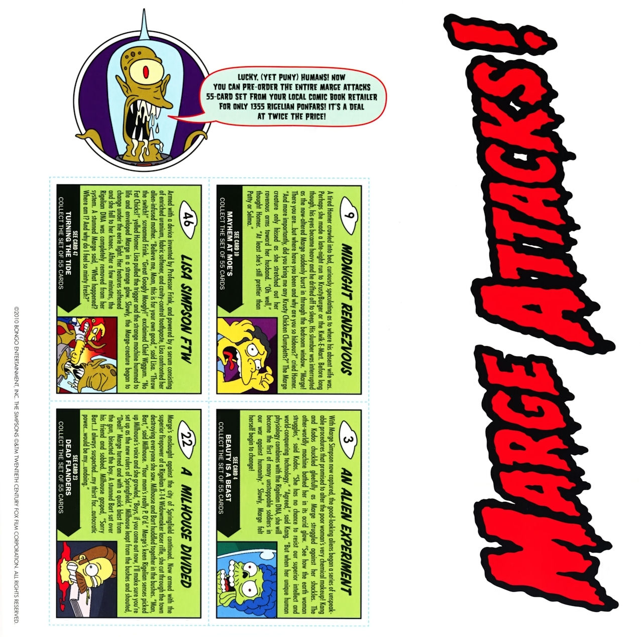 Read online Treehouse of Horror comic -  Issue #16 - 55