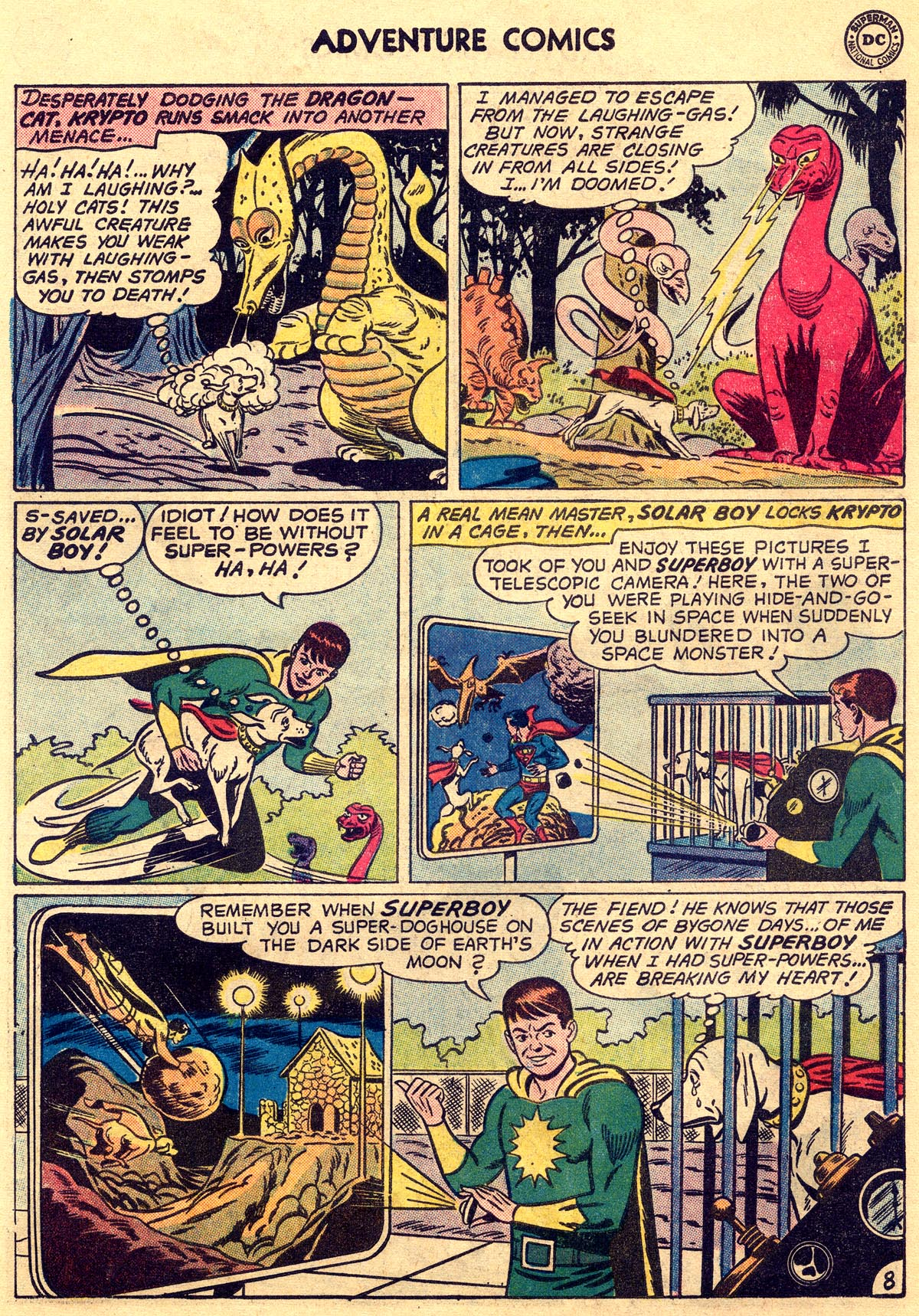 Read online Adventure Comics (1938) comic -  Issue #269 - 10