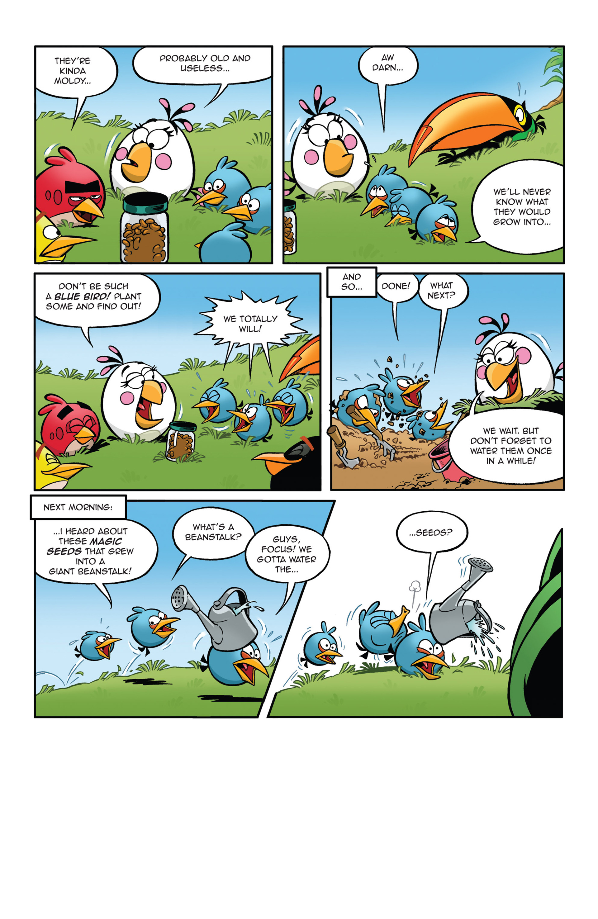 Read online Angry Birds Comics (2014) comic -  Issue #5 - 4
