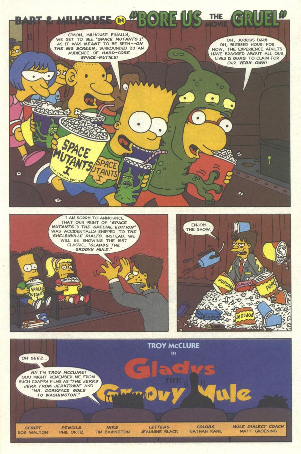 Read online Simpsons Comics comic -  Issue #30 - 26