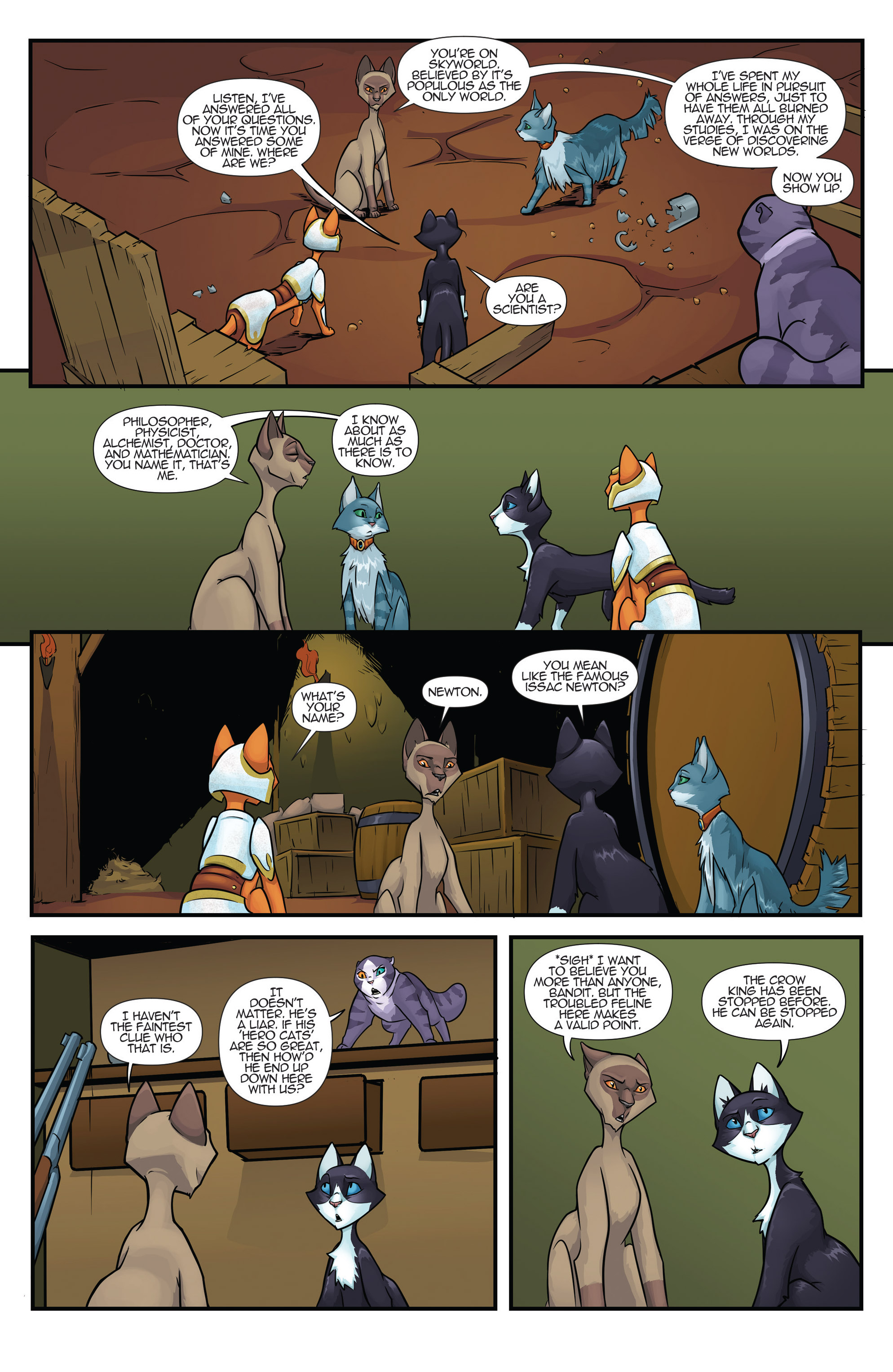 Read online Hero Cats comic -  Issue #17 - 10