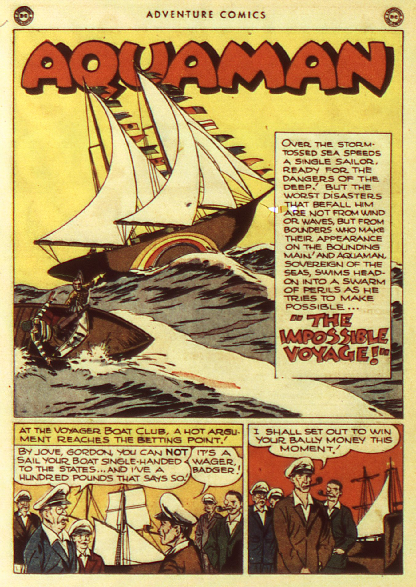 Read online Adventure Comics (1938) comic -  Issue #105 - 32