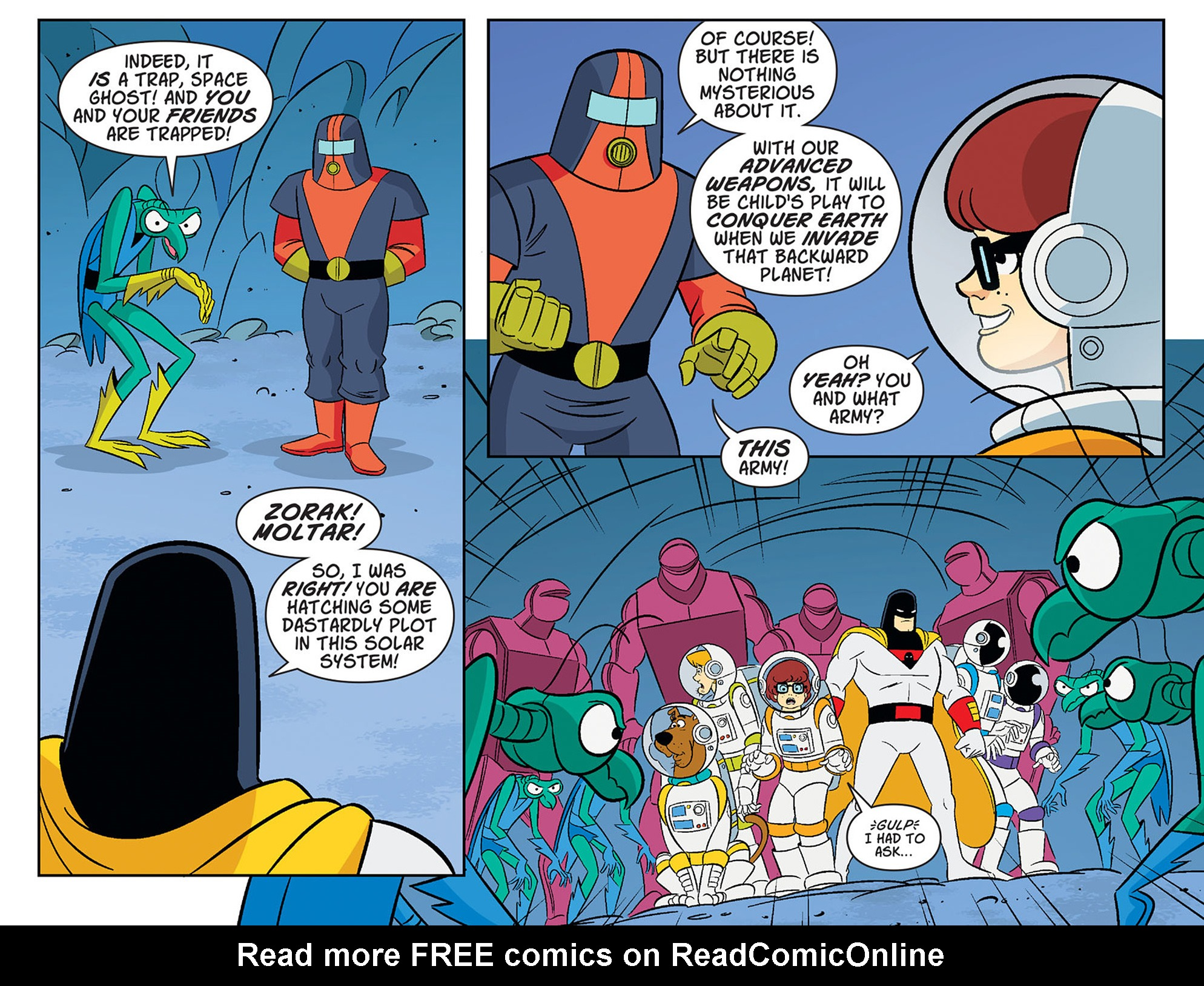 Read online Scooby-Doo! Team-Up comic -  Issue #40 - 11