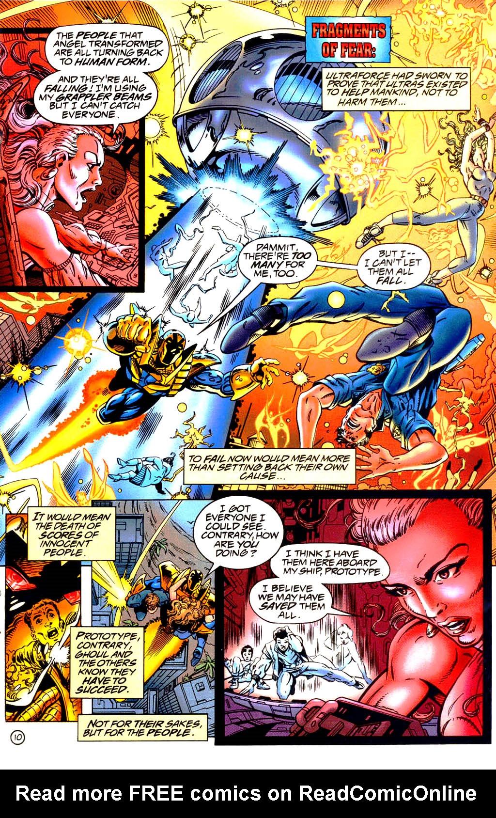 Read online UltraForce (1994) comic -  Issue #9 - 11