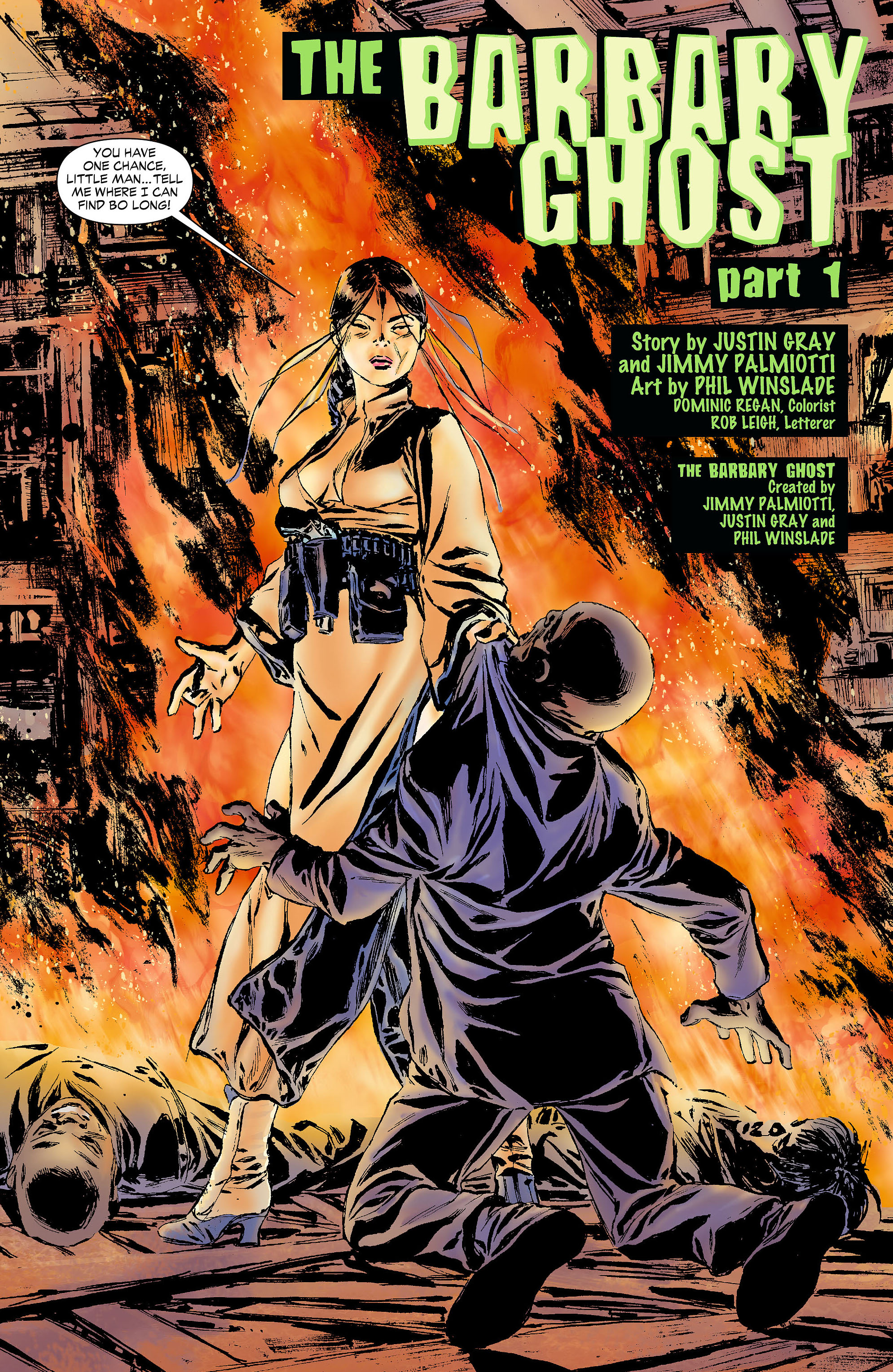 Read online All-Star Western (2011) comic -  Issue #4 - 23