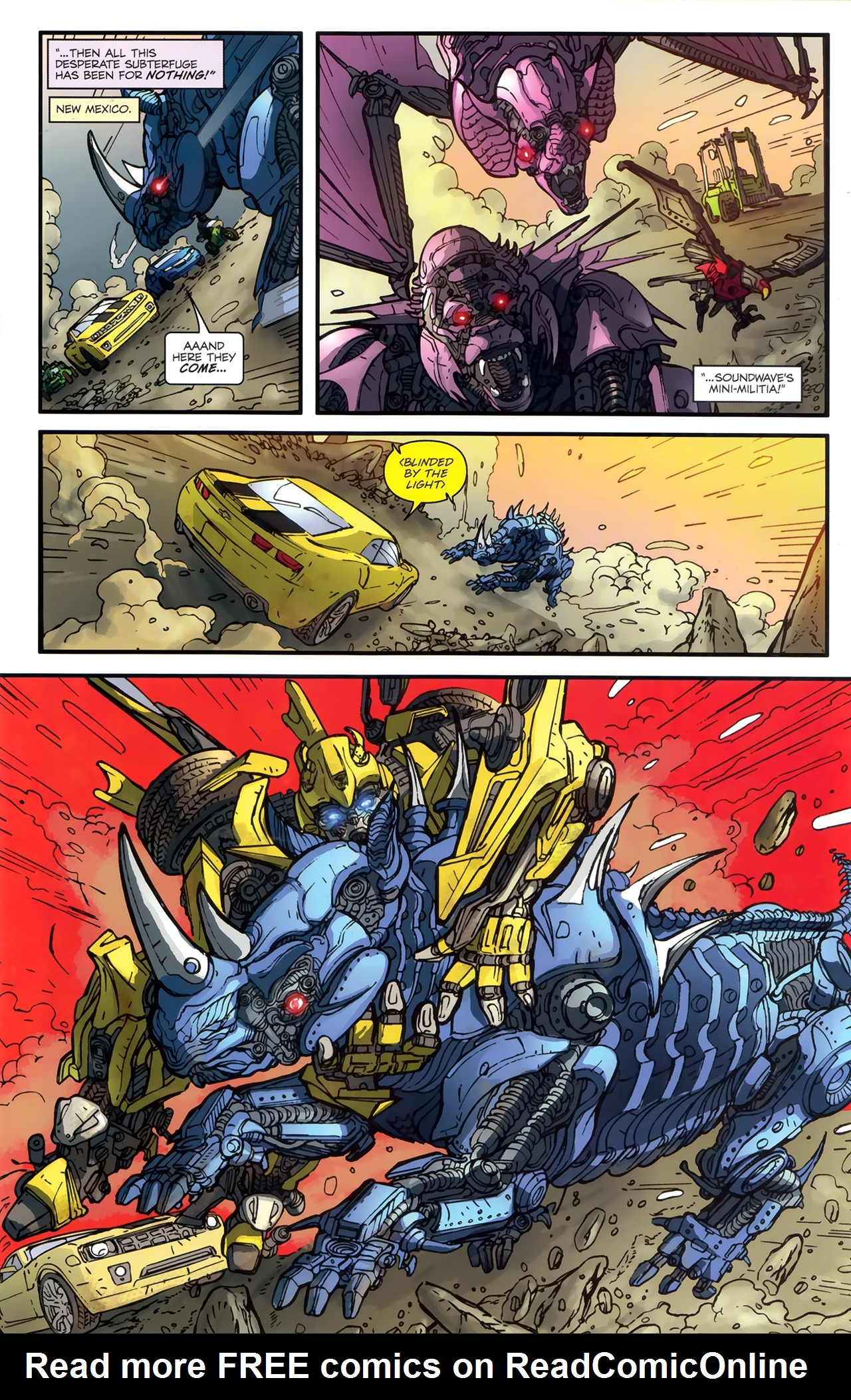 Read online Transformers: Nefarious comic -  Issue #3 - 18