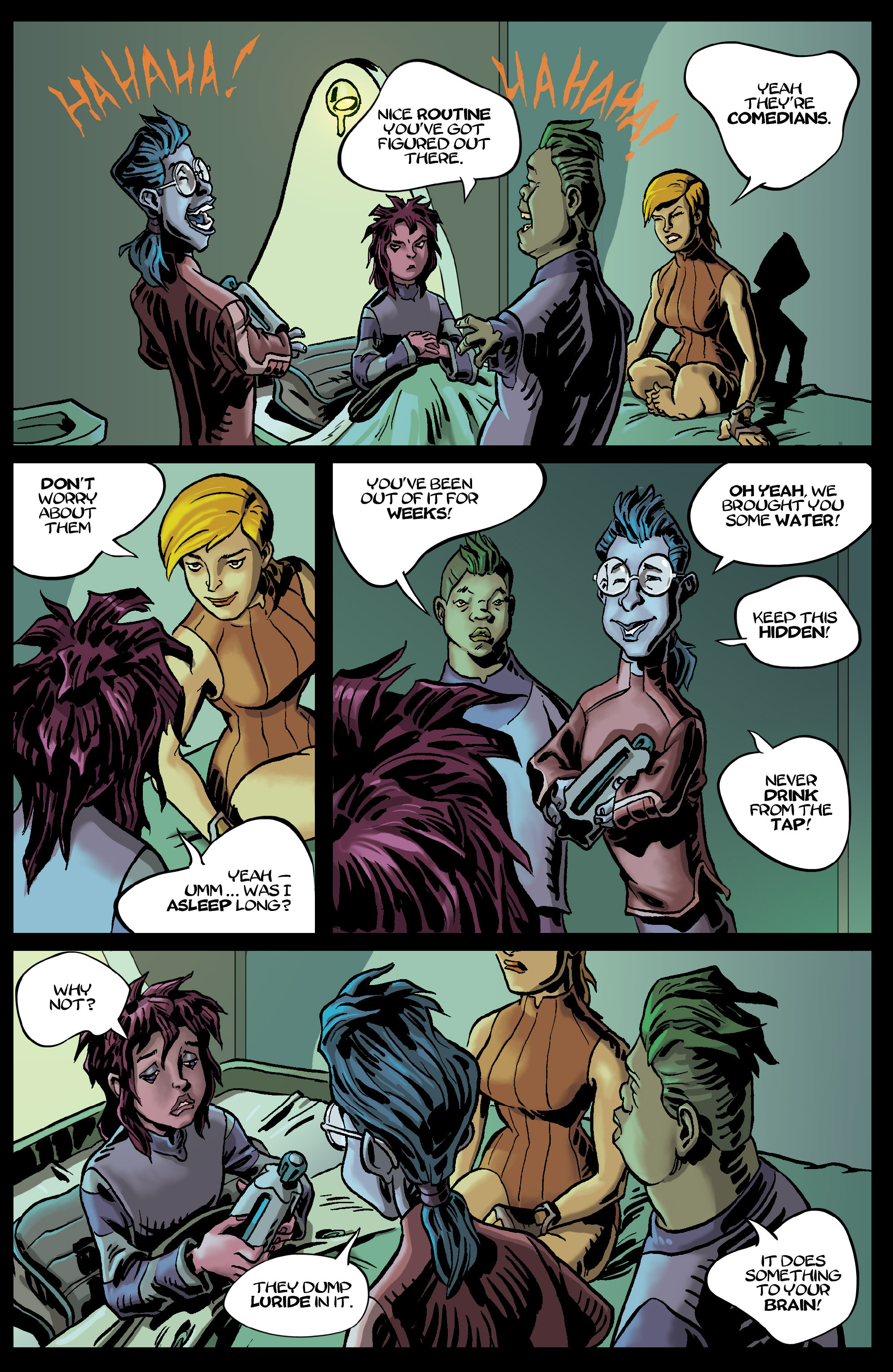 Read online 8House comic -  Issue #5 - 19